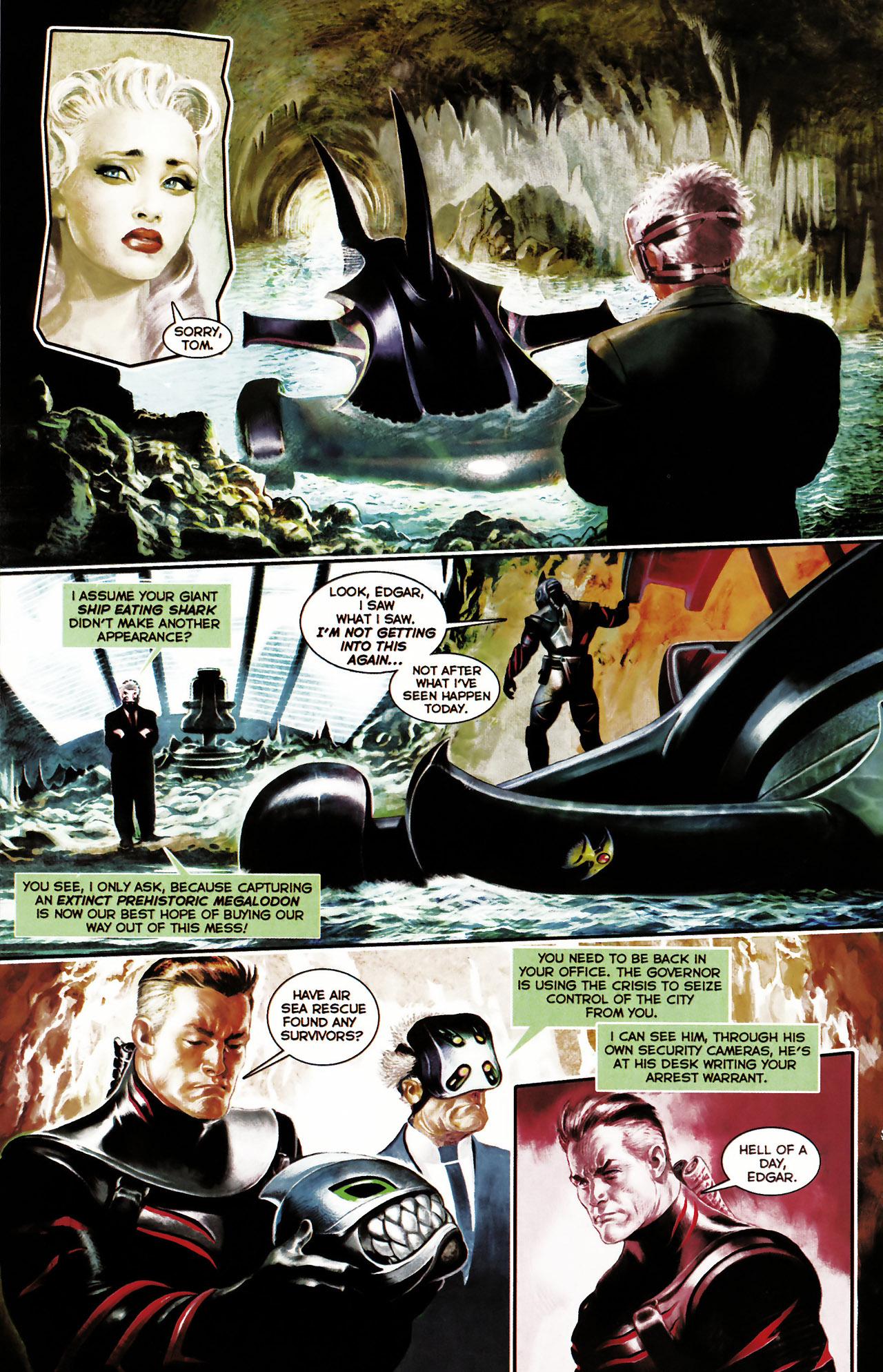Read online Shark-Man comic -  Issue #1 - 20