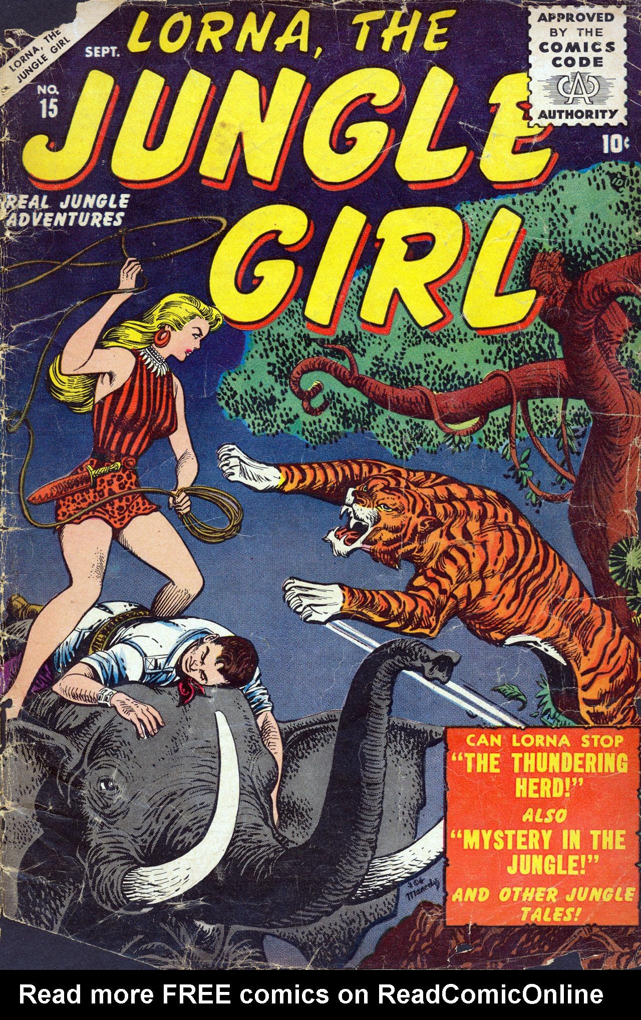 Lorna, The Jungle Girl 15 Page 1