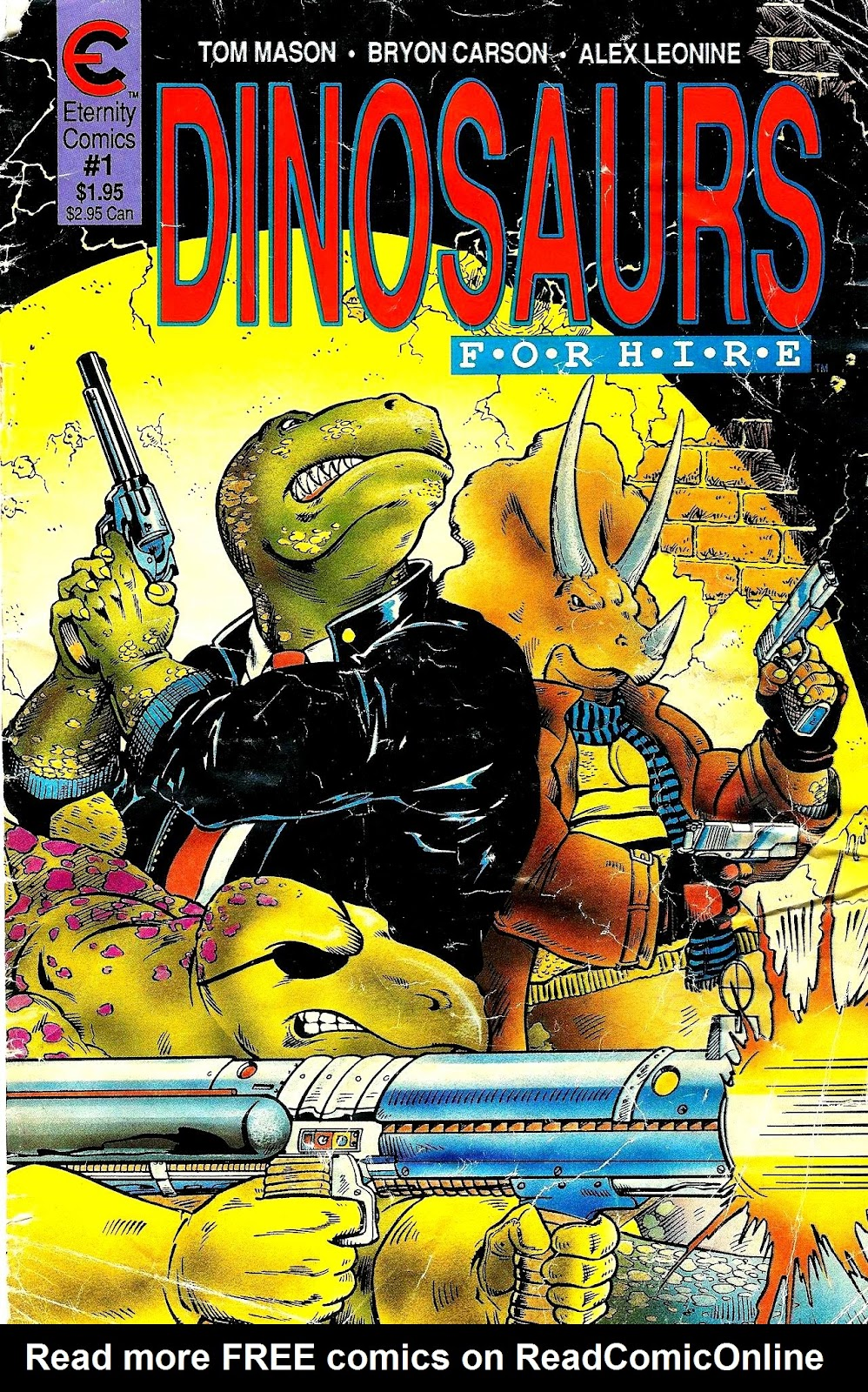 Dinosaurs For Hire (1988) issue 1 - Page 1