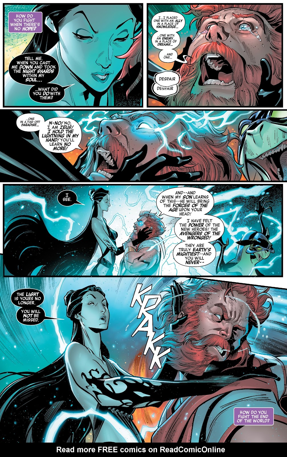 Read online Avengers No Road Home comic -  Issue #2 - 9