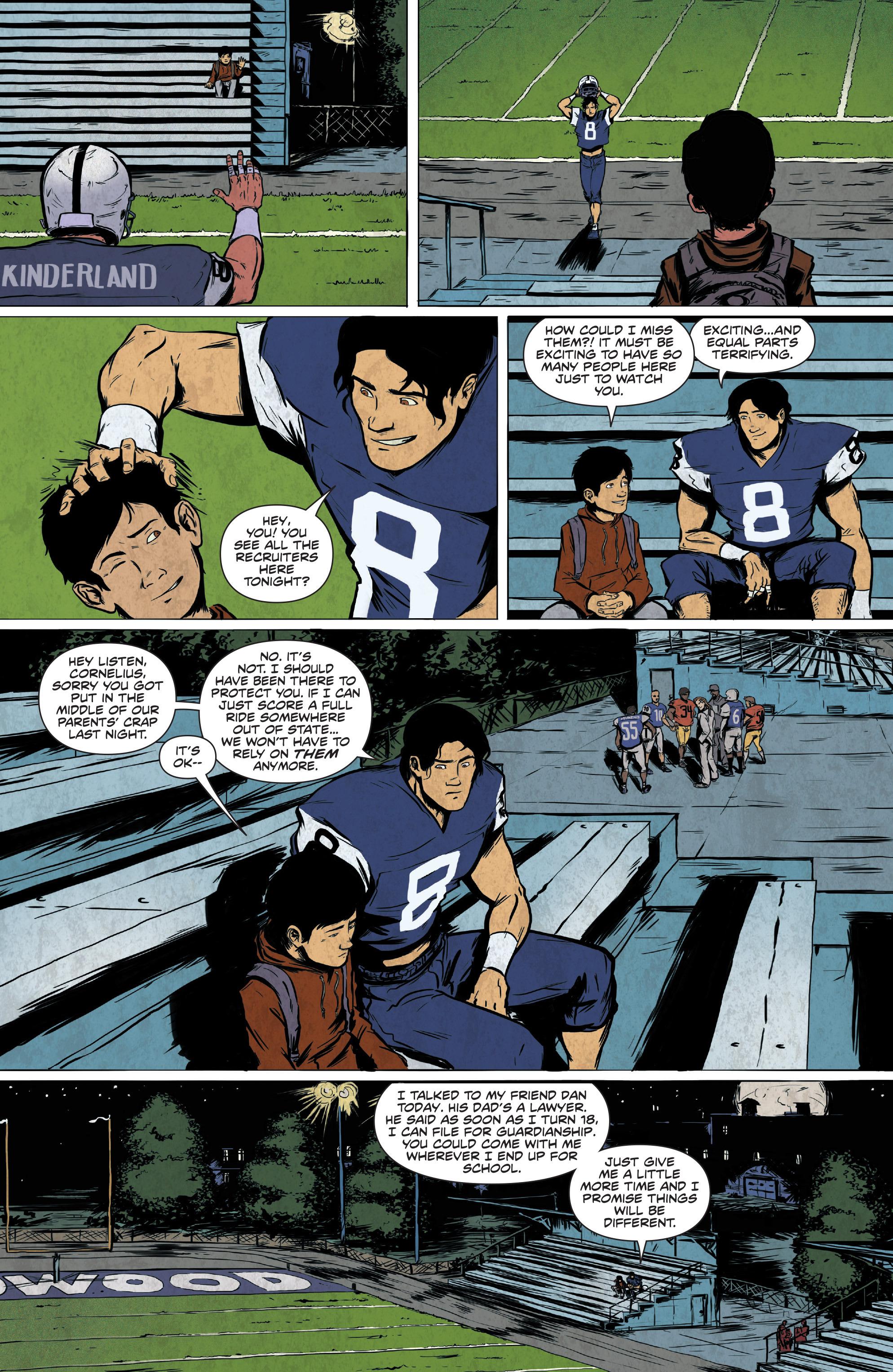 Read online Translucid comic -  Issue #2 - 8