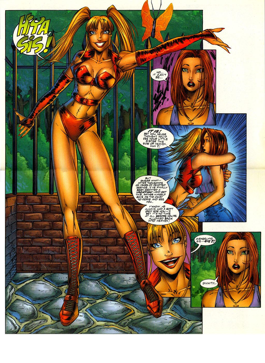 Read online Avengelyne (1996) comic -  Issue #6 - 4