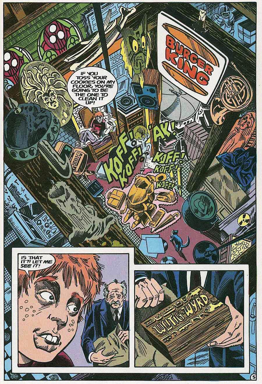 Elementals (1984) issue 19 - Page 7