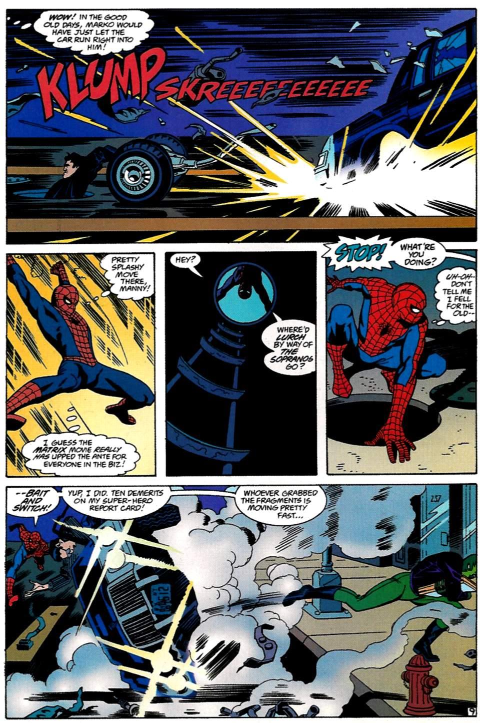 Read online Spider-Man: Lifeline comic -  Issue #1 - 10