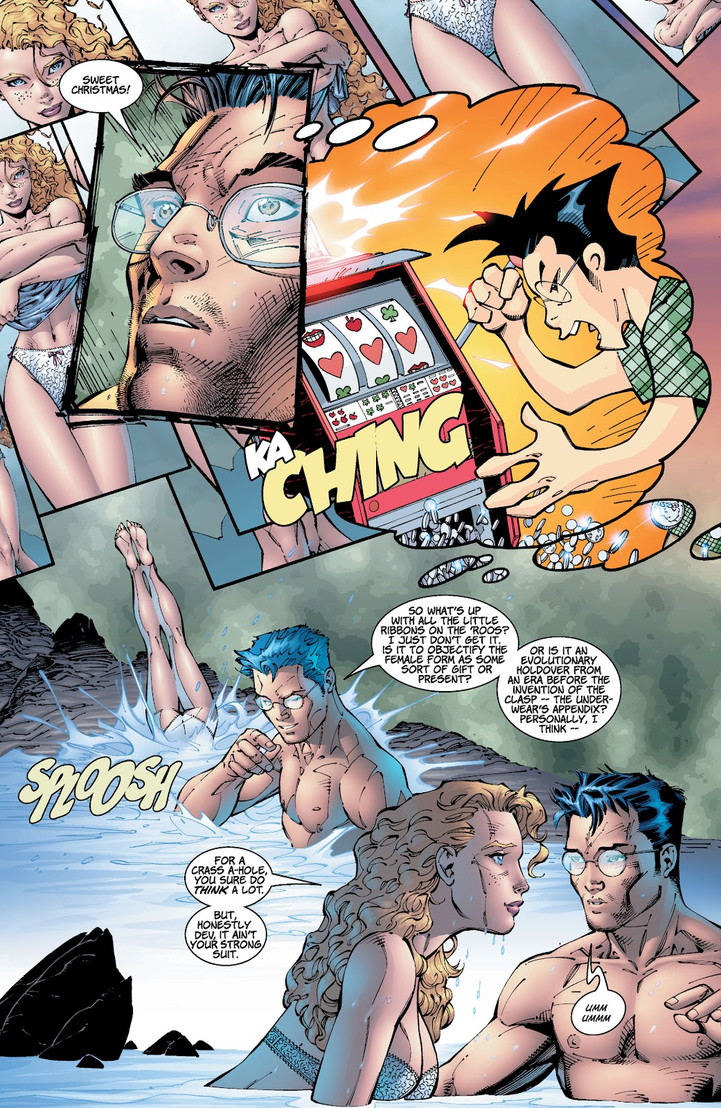 Read online Divine Right comic -  Issue # _TPB The Adventures of Max Faraday (Part 2) - 61