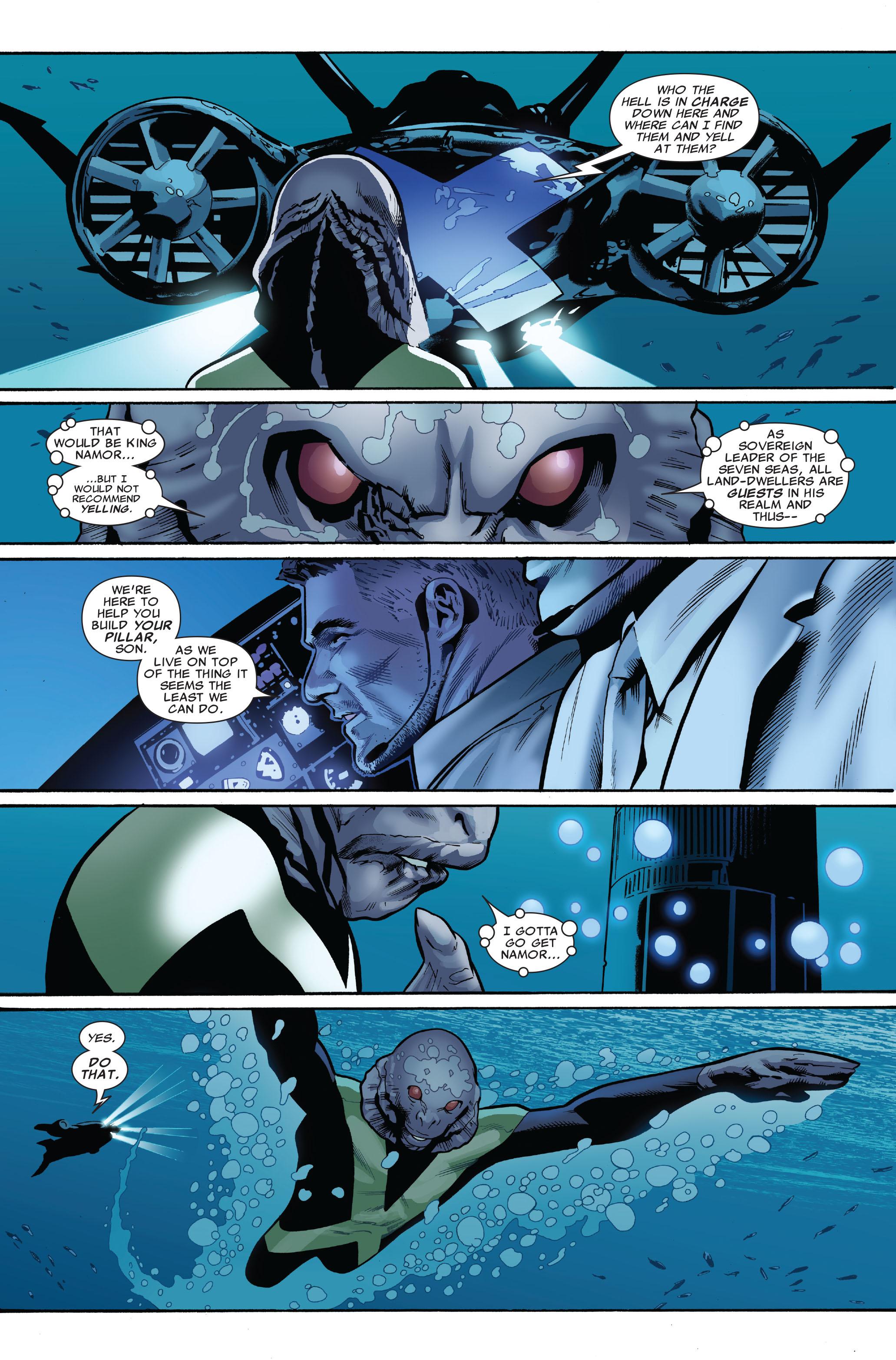 Read online Uncanny X-Men (1963) comic -  Issue #521 - 11