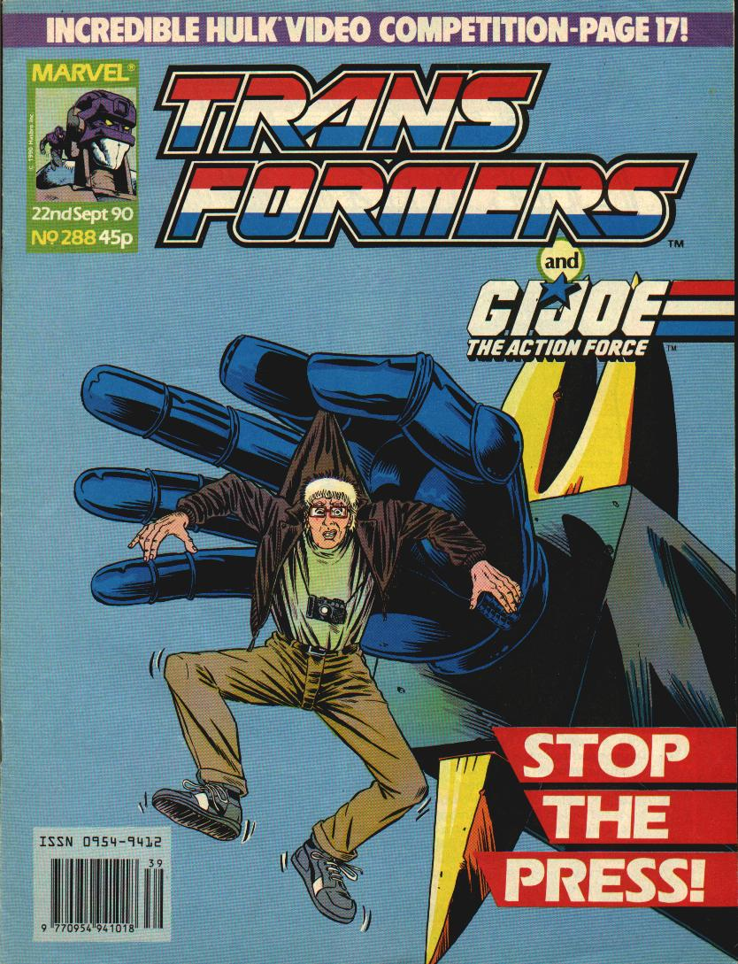The Transformers (UK) 288 Page 1