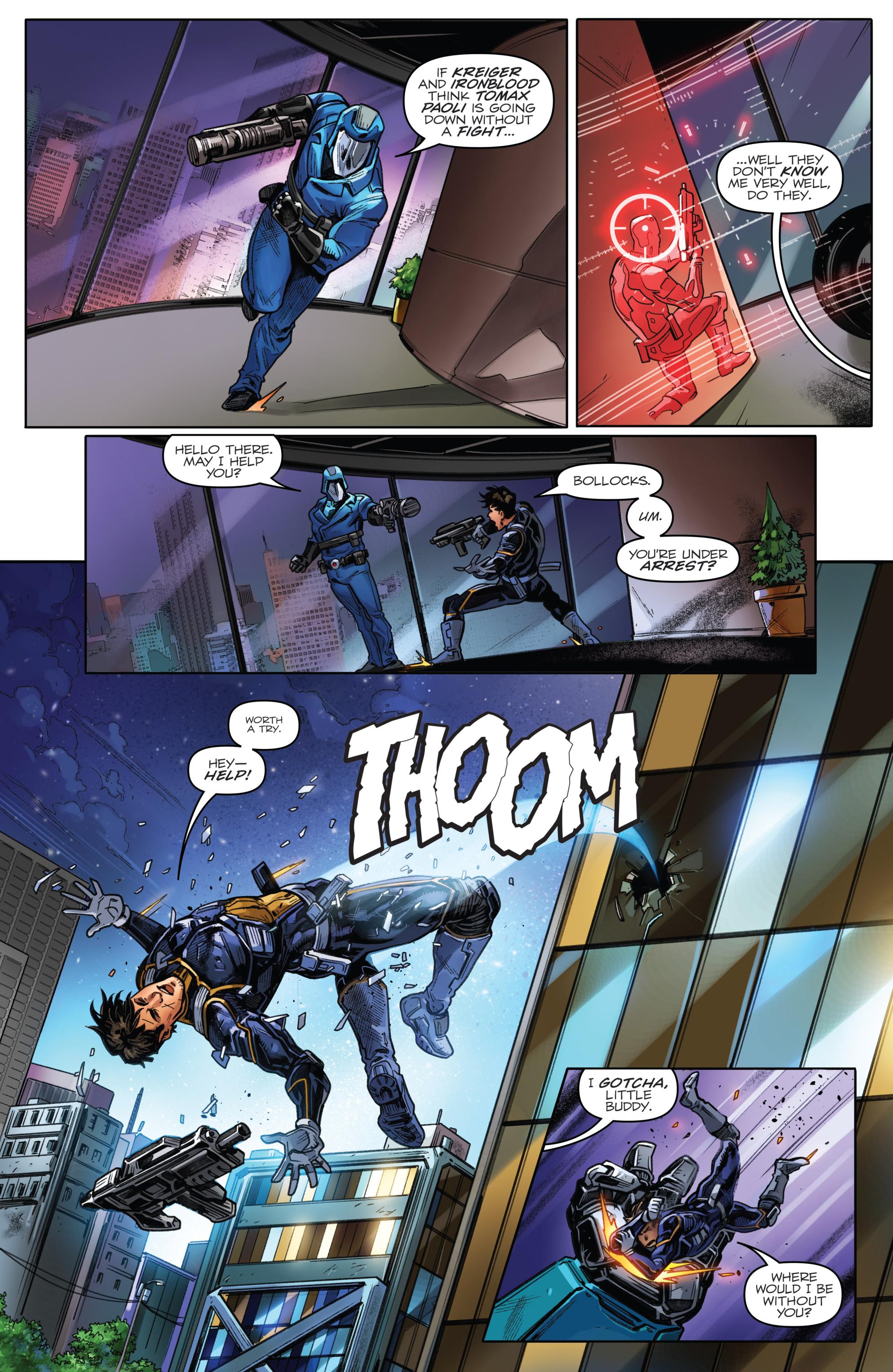 Read online Revolutionaries comic -  Issue #5 - 10