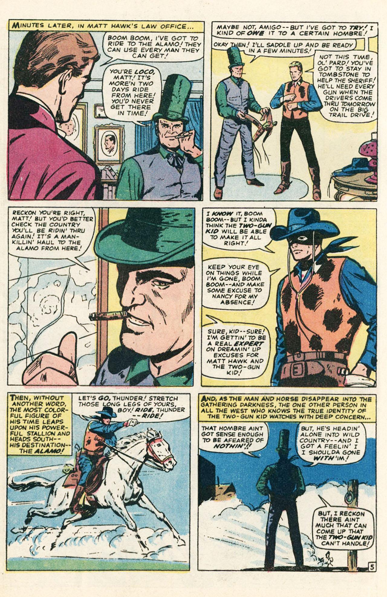 Read online Two-Gun Kid comic -  Issue #95 - 8