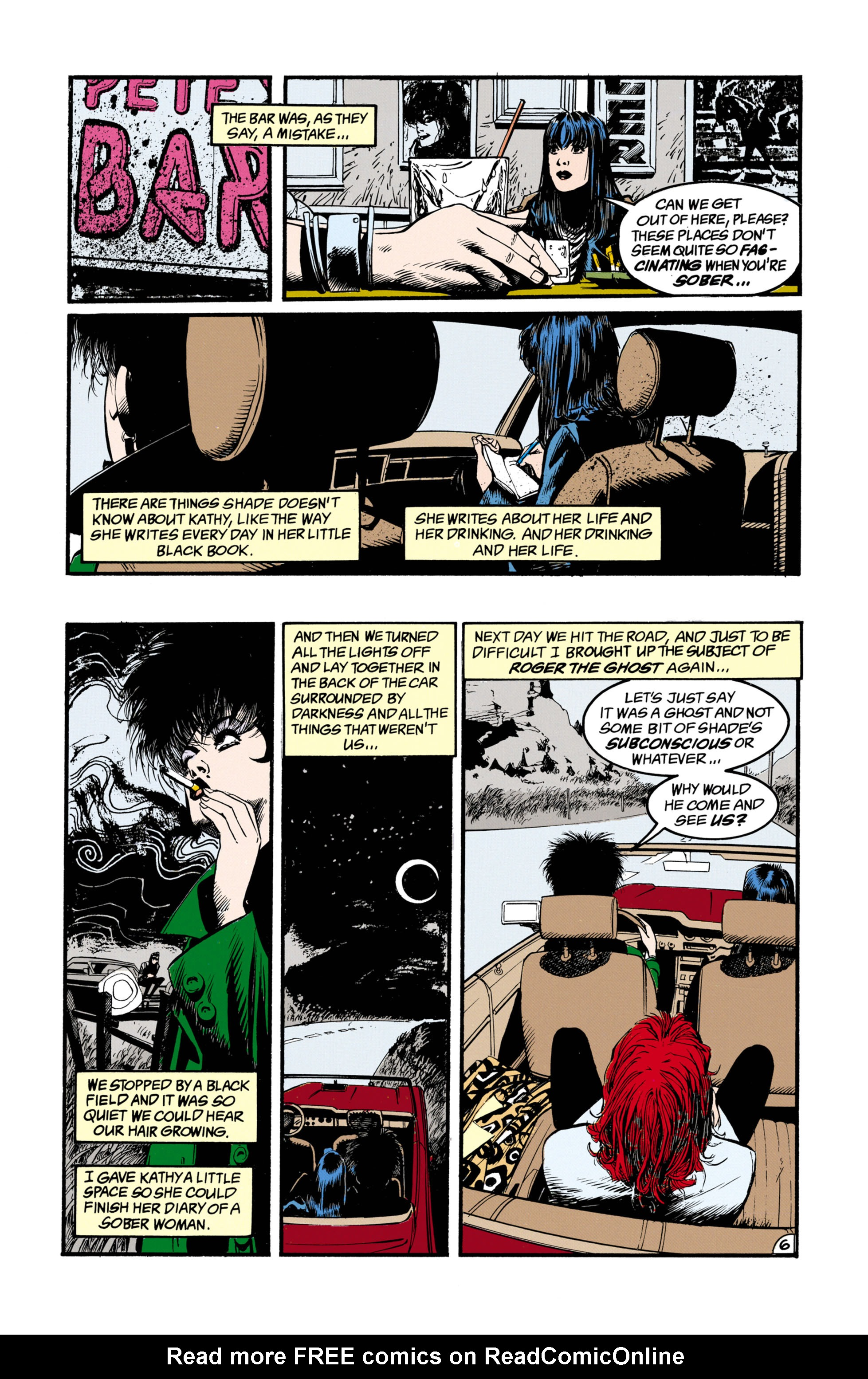 Read online Shade, the Changing Man comic -  Issue #26 - 7