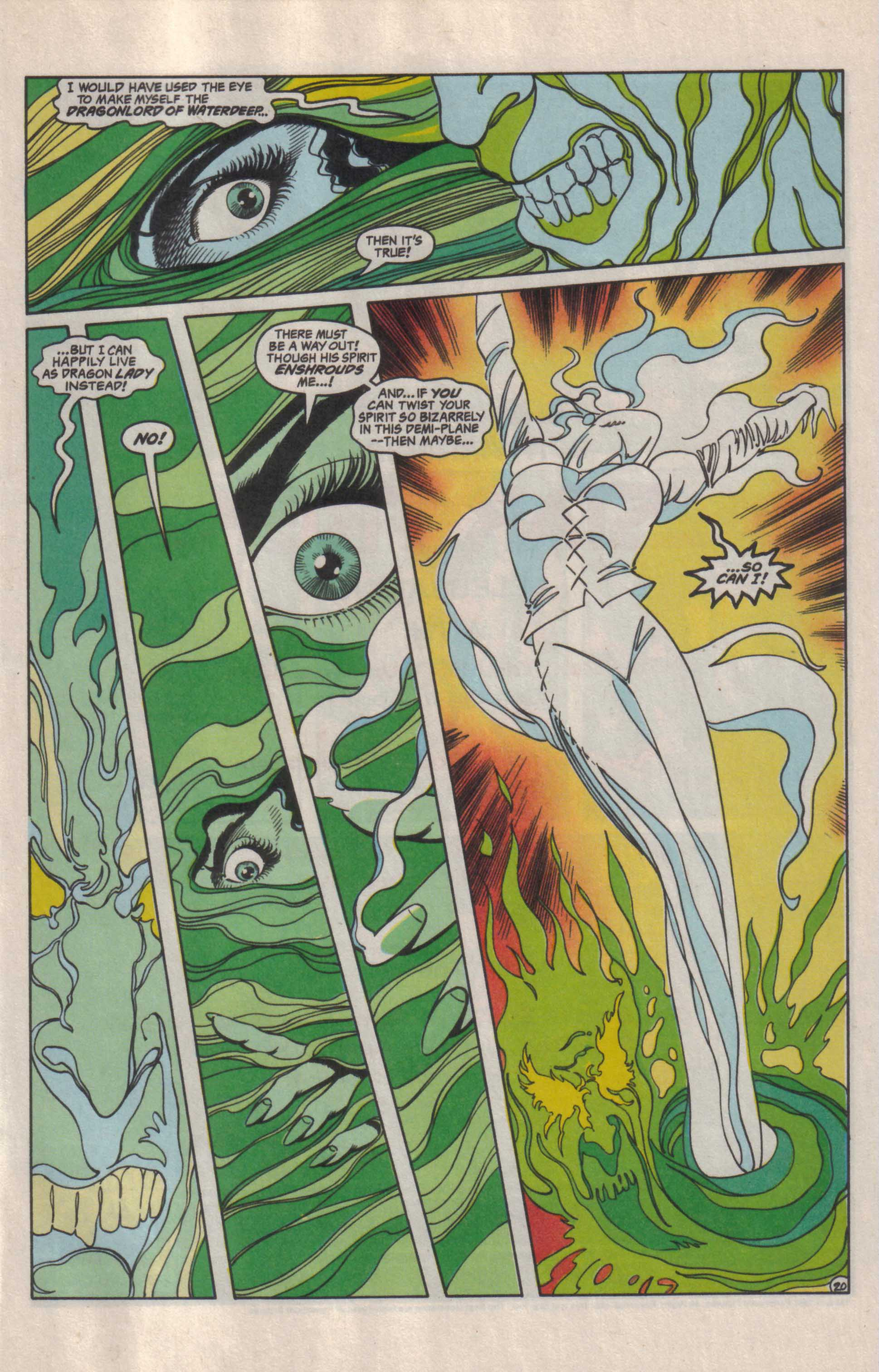 Read online Advanced Dungeons & Dragons comic -  Issue #29 - 21