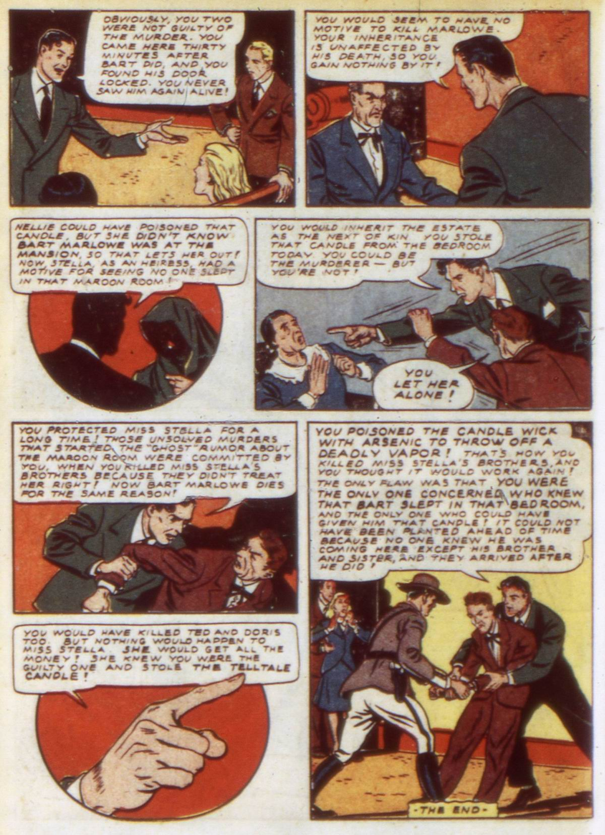 Read online Detective Comics (1937) comic -  Issue #60 - 48