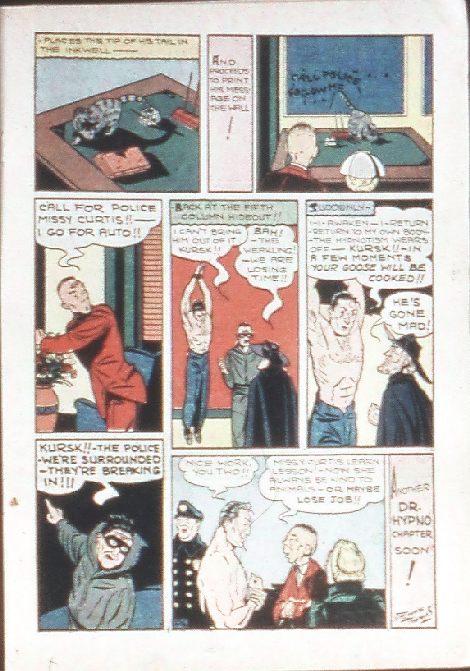Read online Amazing Man Comics comic -  Issue #18 - 27
