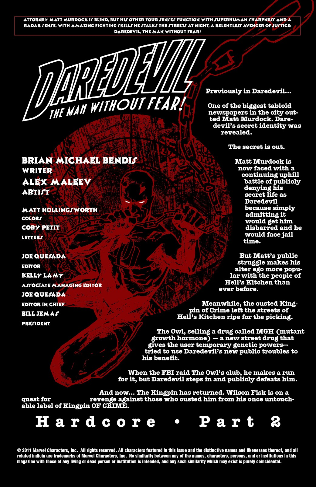 Read online Daredevil (1998) comic -  Issue # _Ultimate_Collection TPB 2 (Part 2) - 36