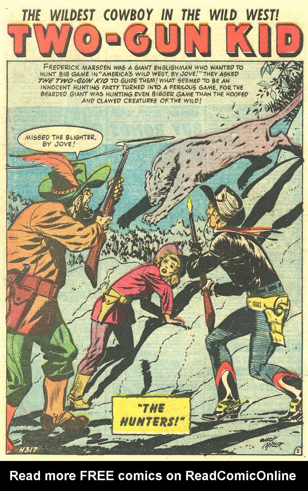 Read online Two-Gun Kid comic -  Issue #29 - 28