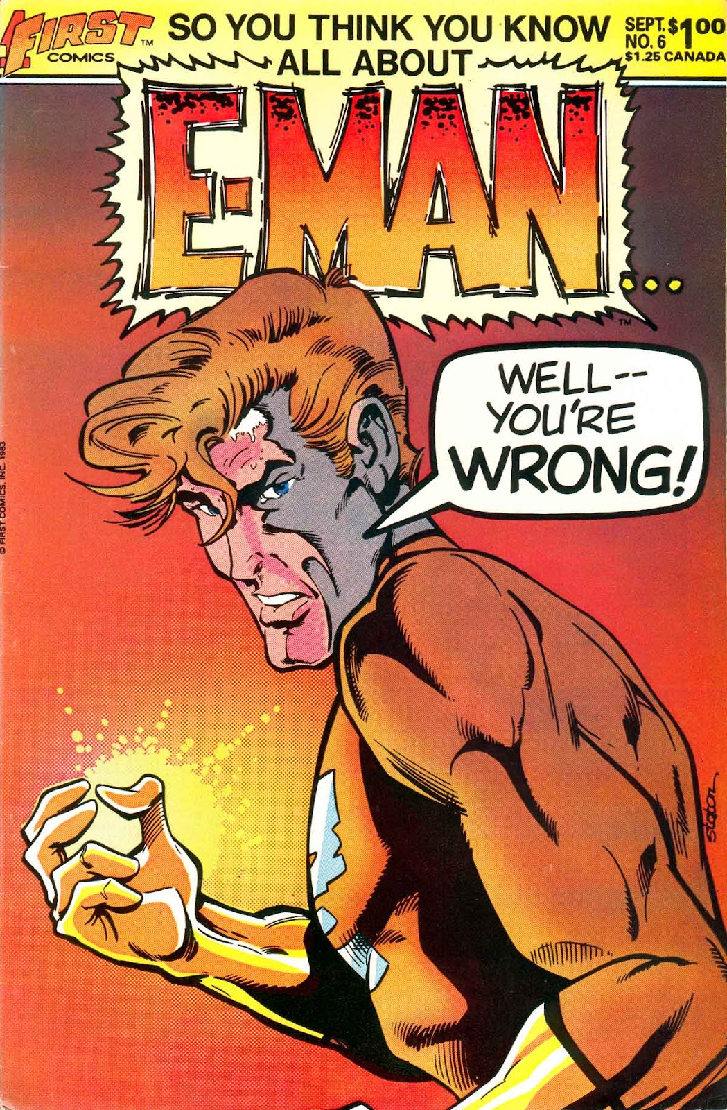E-Man (1983) issue 6 - Page 1
