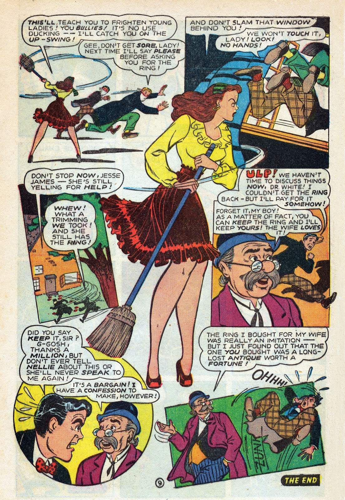 Read online Nellie The Nurse (1945) comic -  Issue #14 - 11