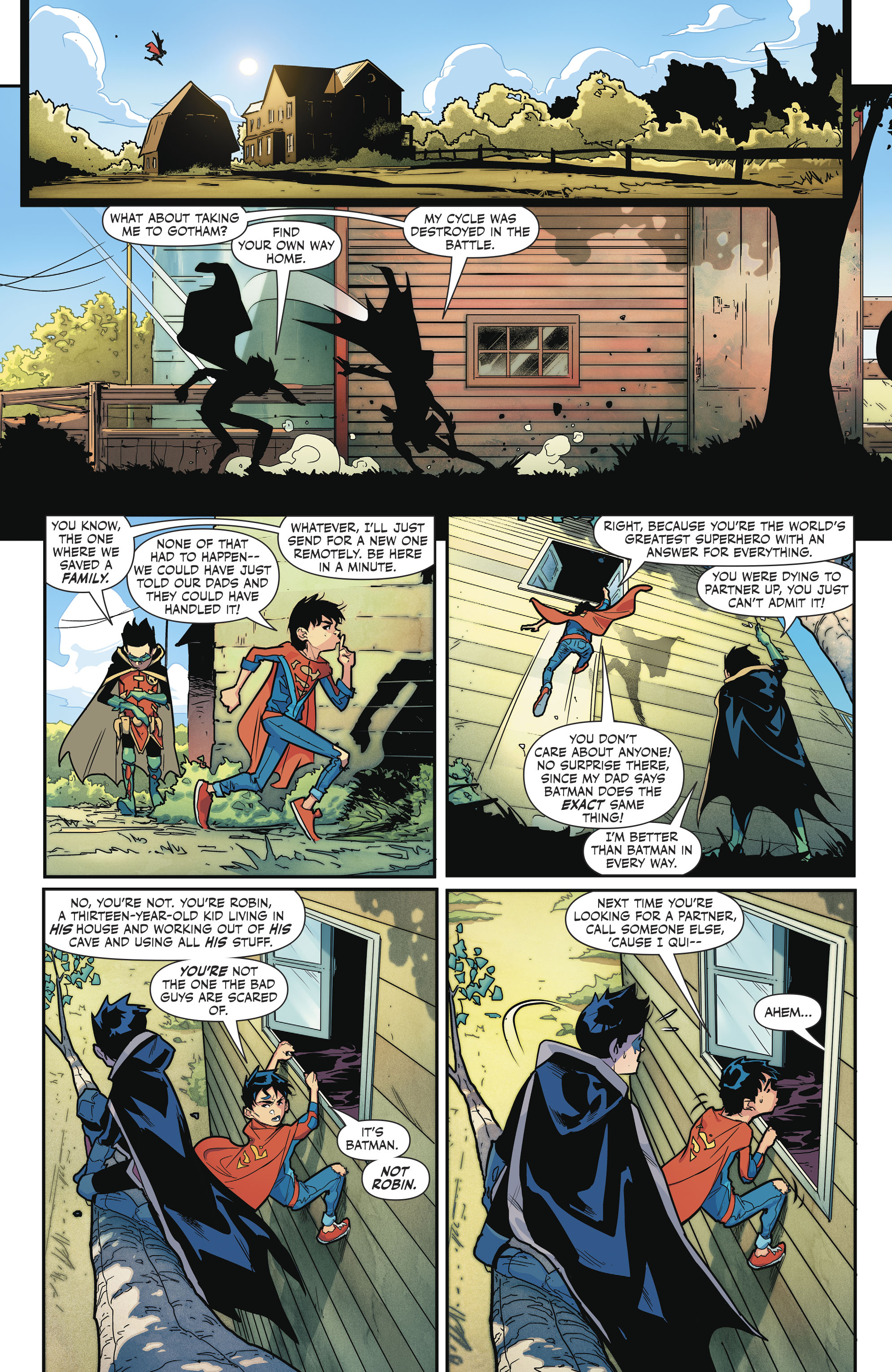 Read online Super Sons comic -  Issue #4 - 21