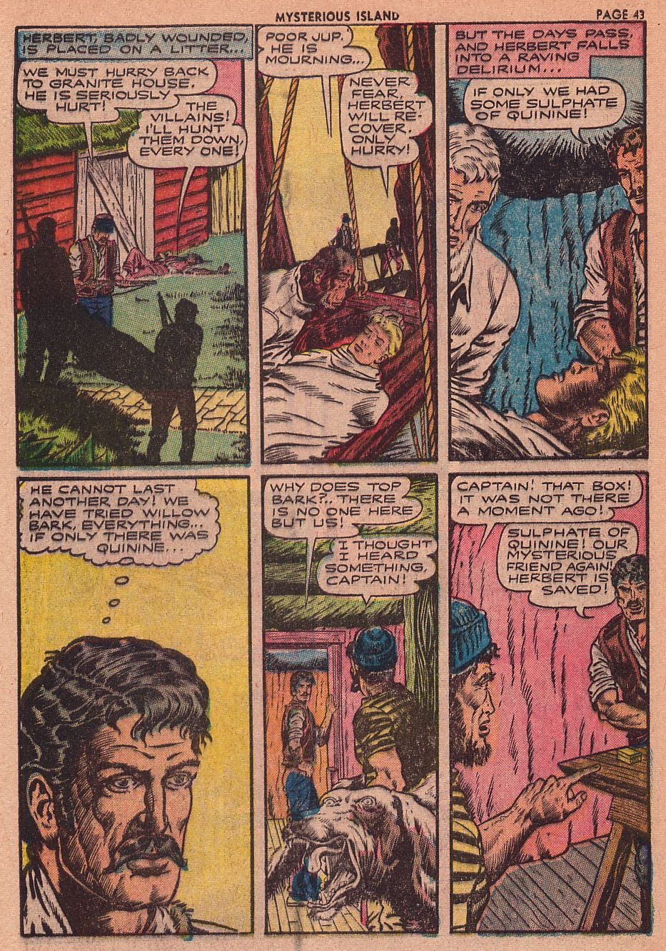 Classics Illustrated issue 34 - Page 40