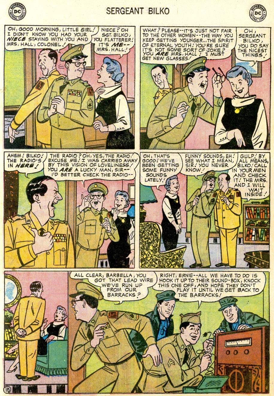 Sergeant Bilko issue 2 - Page 12