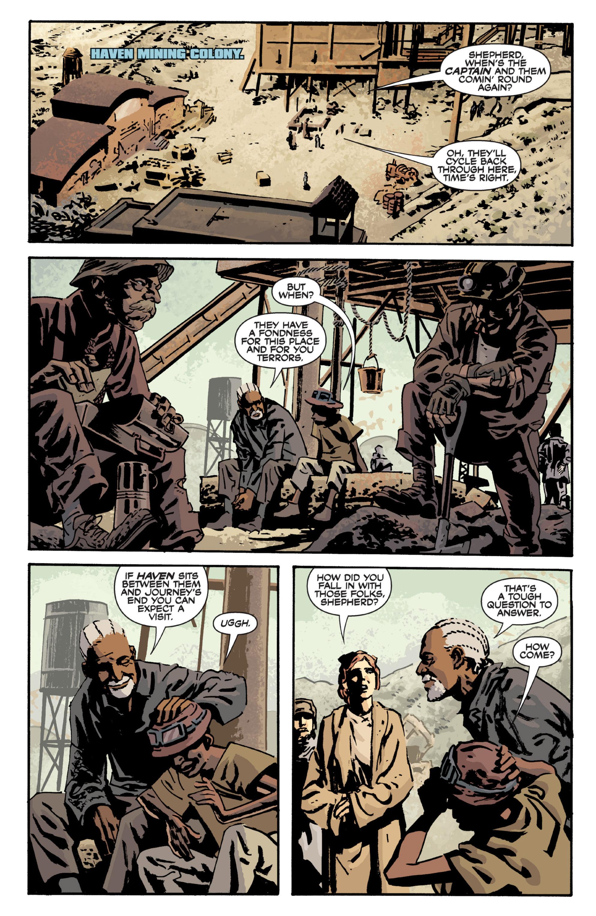 Read online Serenity Volume Three: The Shepherd's Tale comic -  Issue # TPB - 9