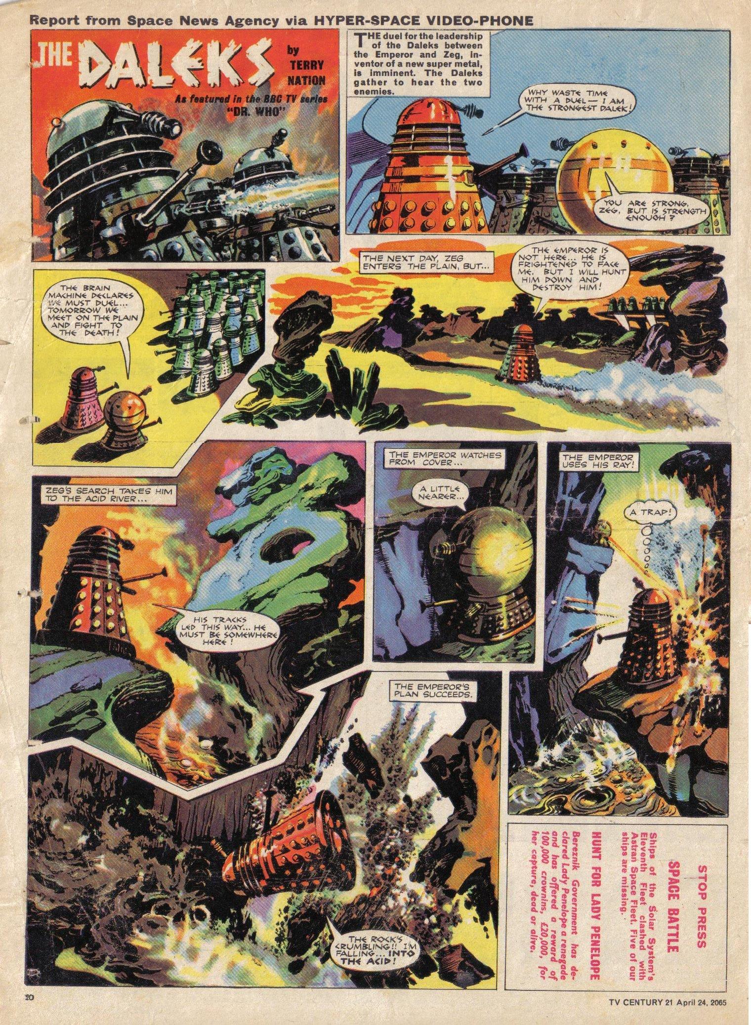Read online TV Century 21 (TV 21) comic -  Issue #14 - 19
