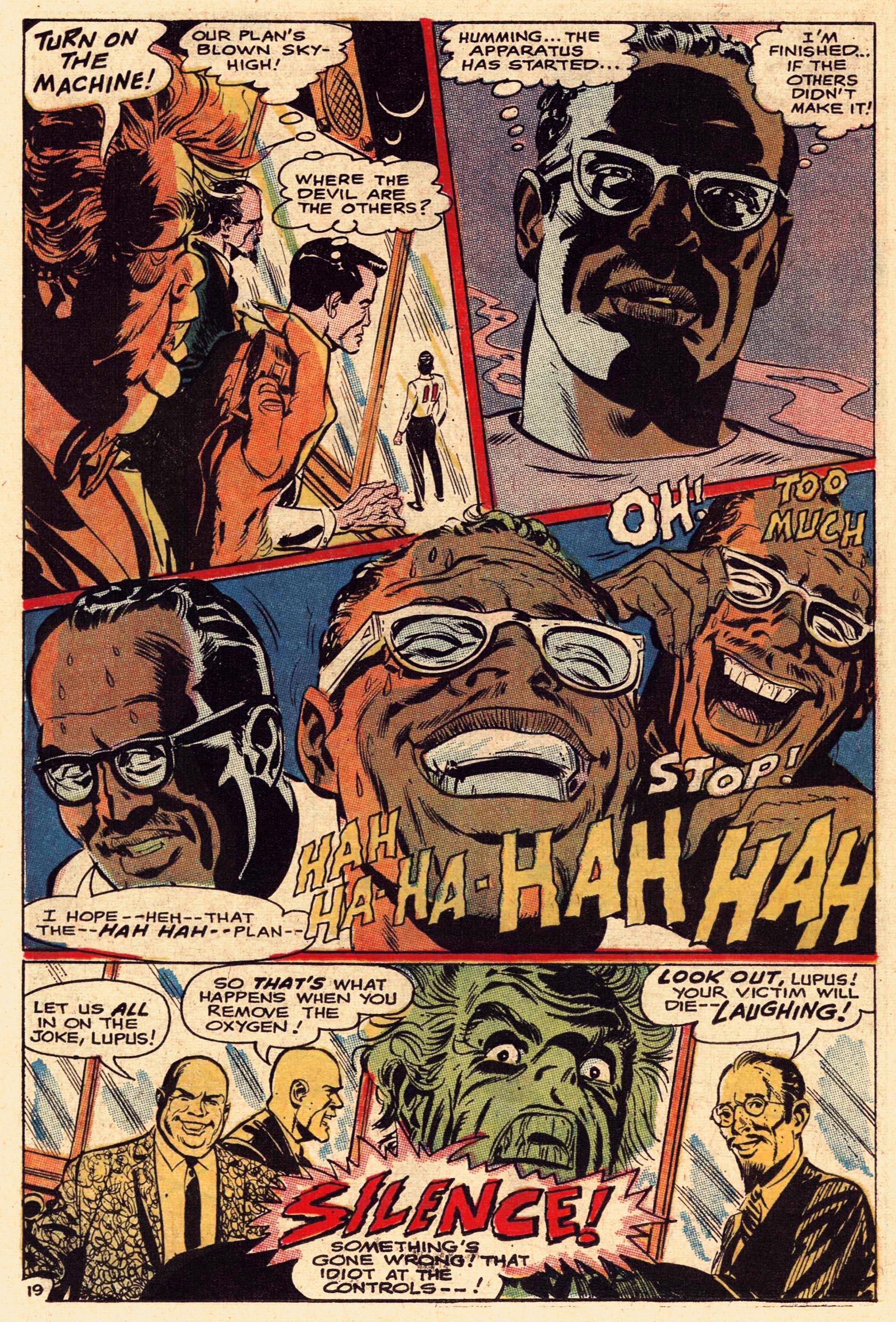 Read online Secret Six (1968) comic -  Issue #1 - 26