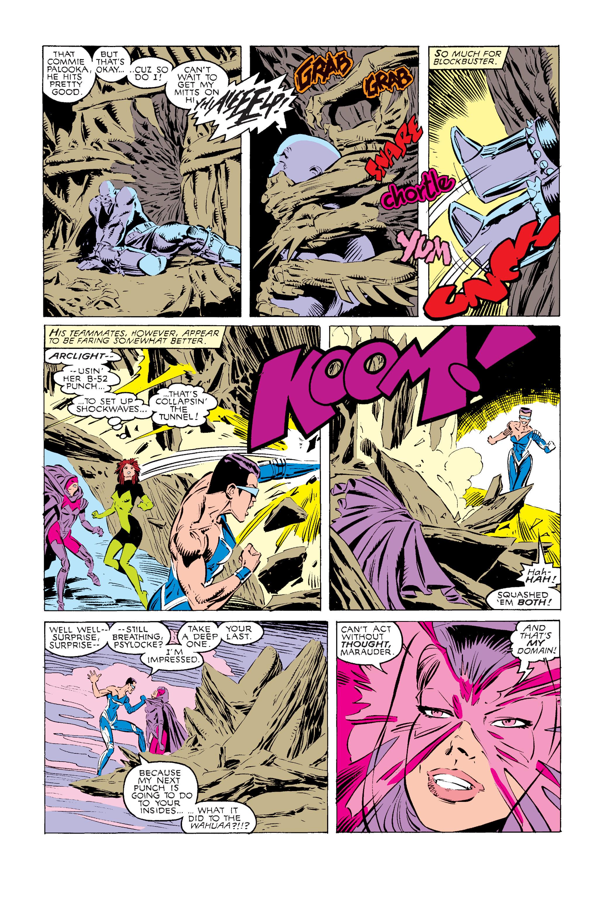 Read online Uncanny X-Men (1963) comic -  Issue #240 - 20