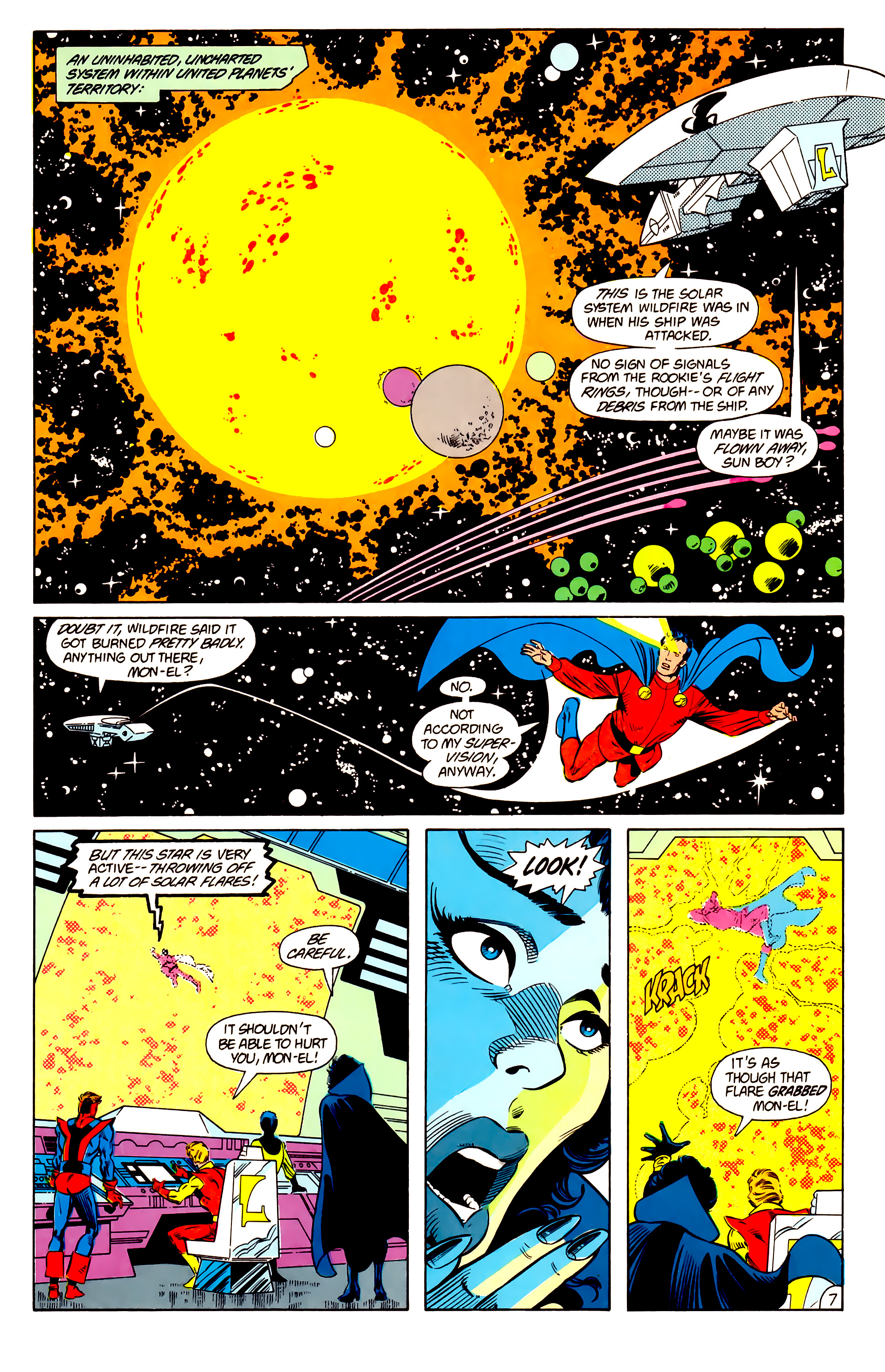 Legion of Super-Heroes (1984) 15 Page 8