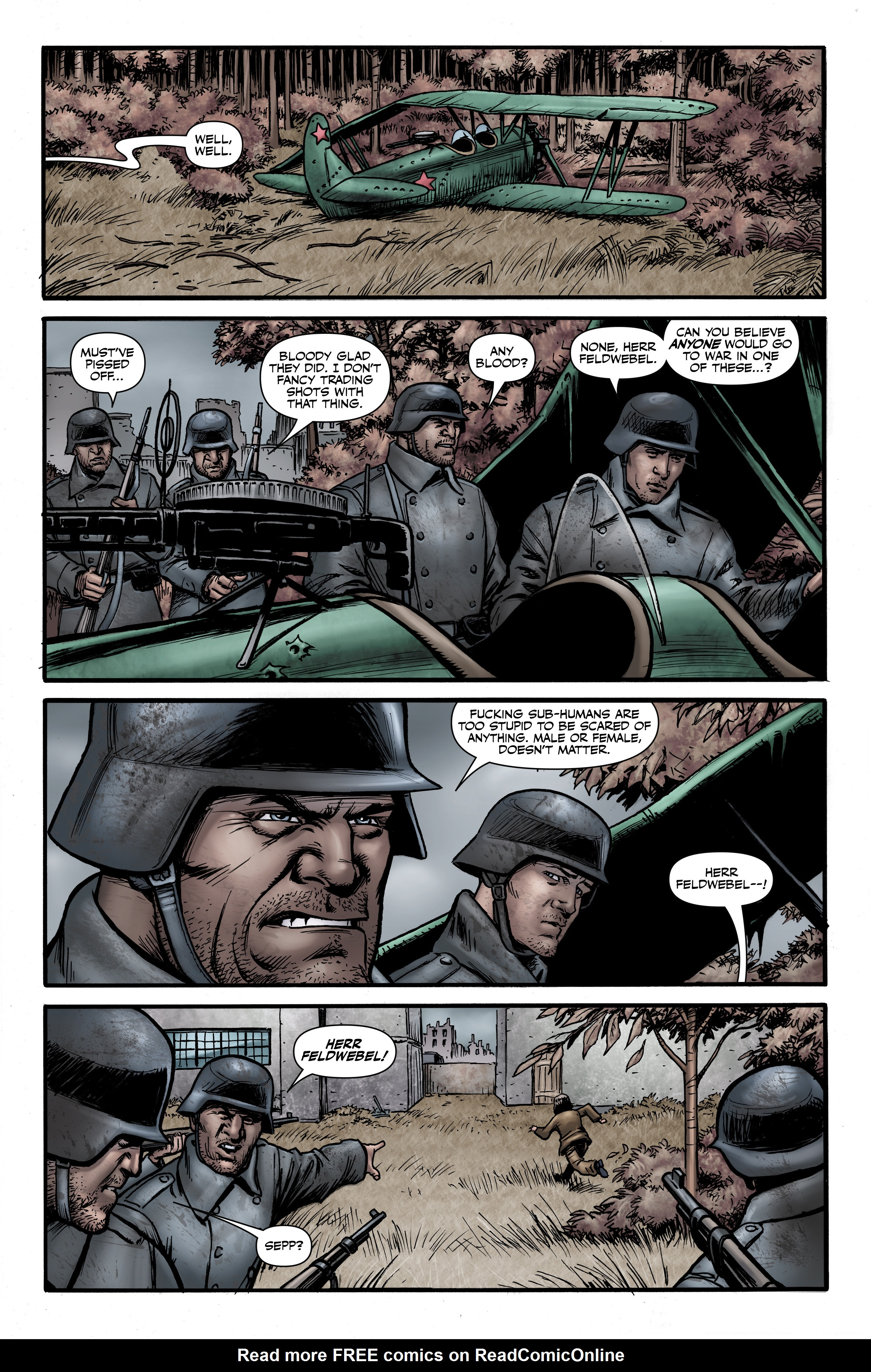 Read online Battlefields: Night Witches comic -  Issue # TPB - 39