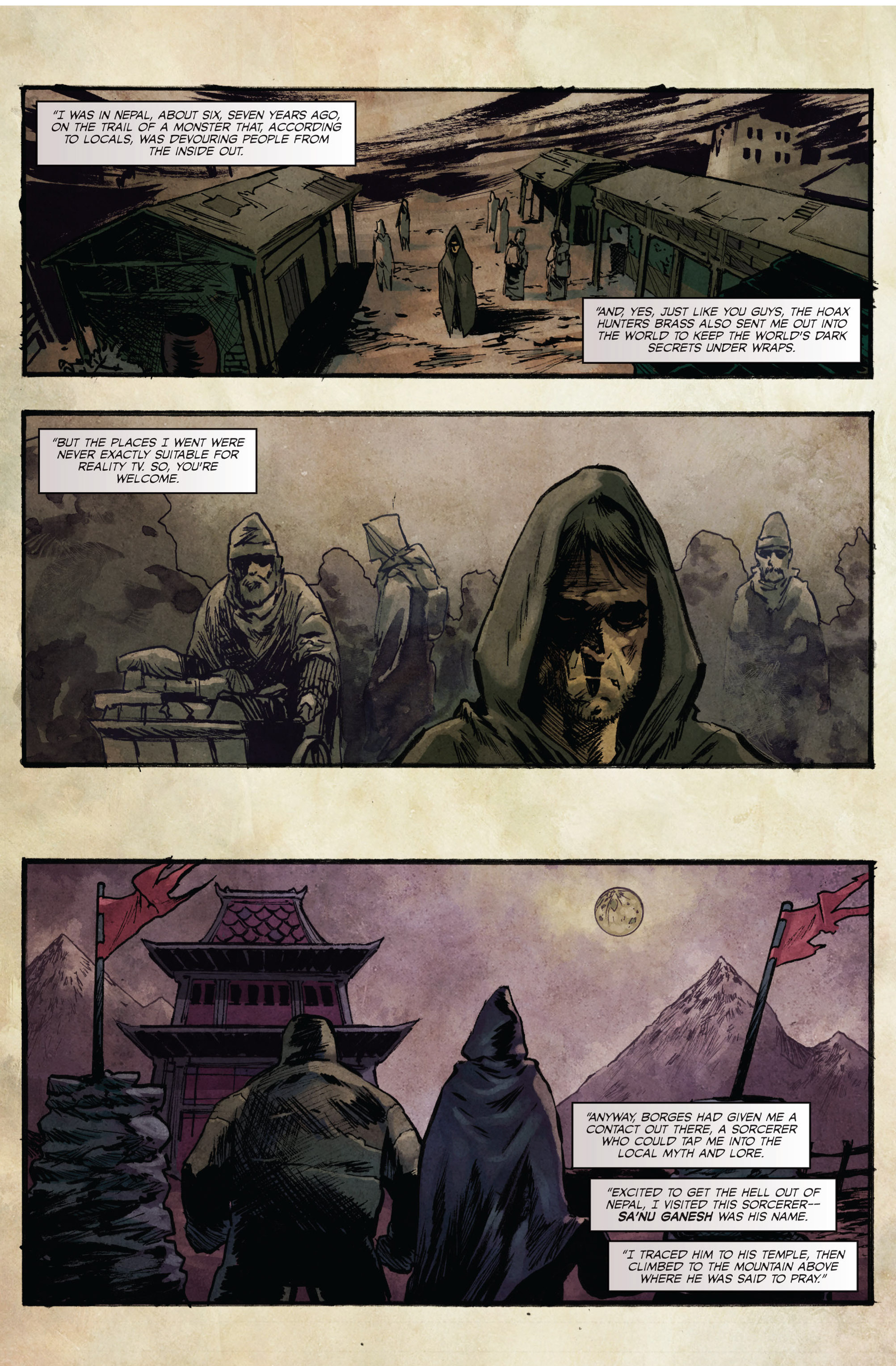 Read online Hoax Hunters (2015) comic -  Issue #3 - 3