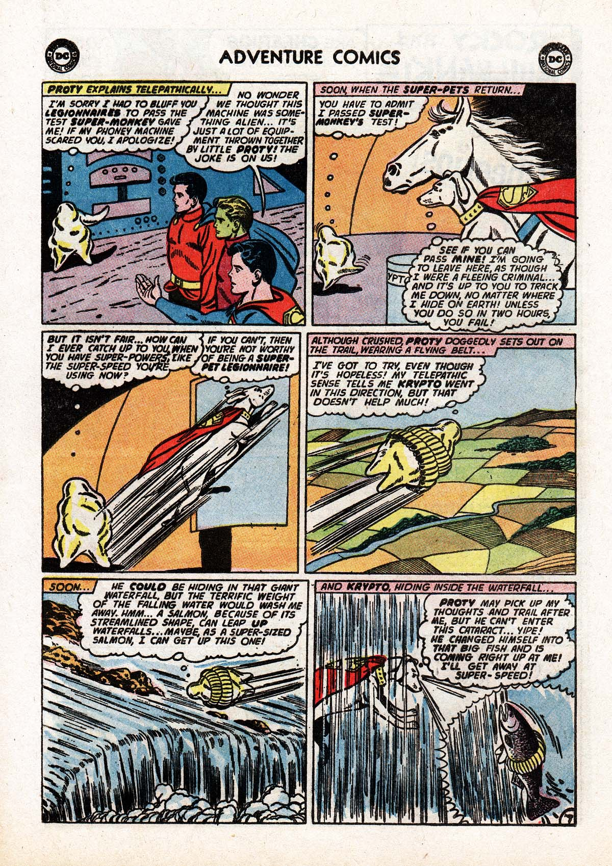 Read online Adventure Comics (1938) comic -  Issue #322 - 20