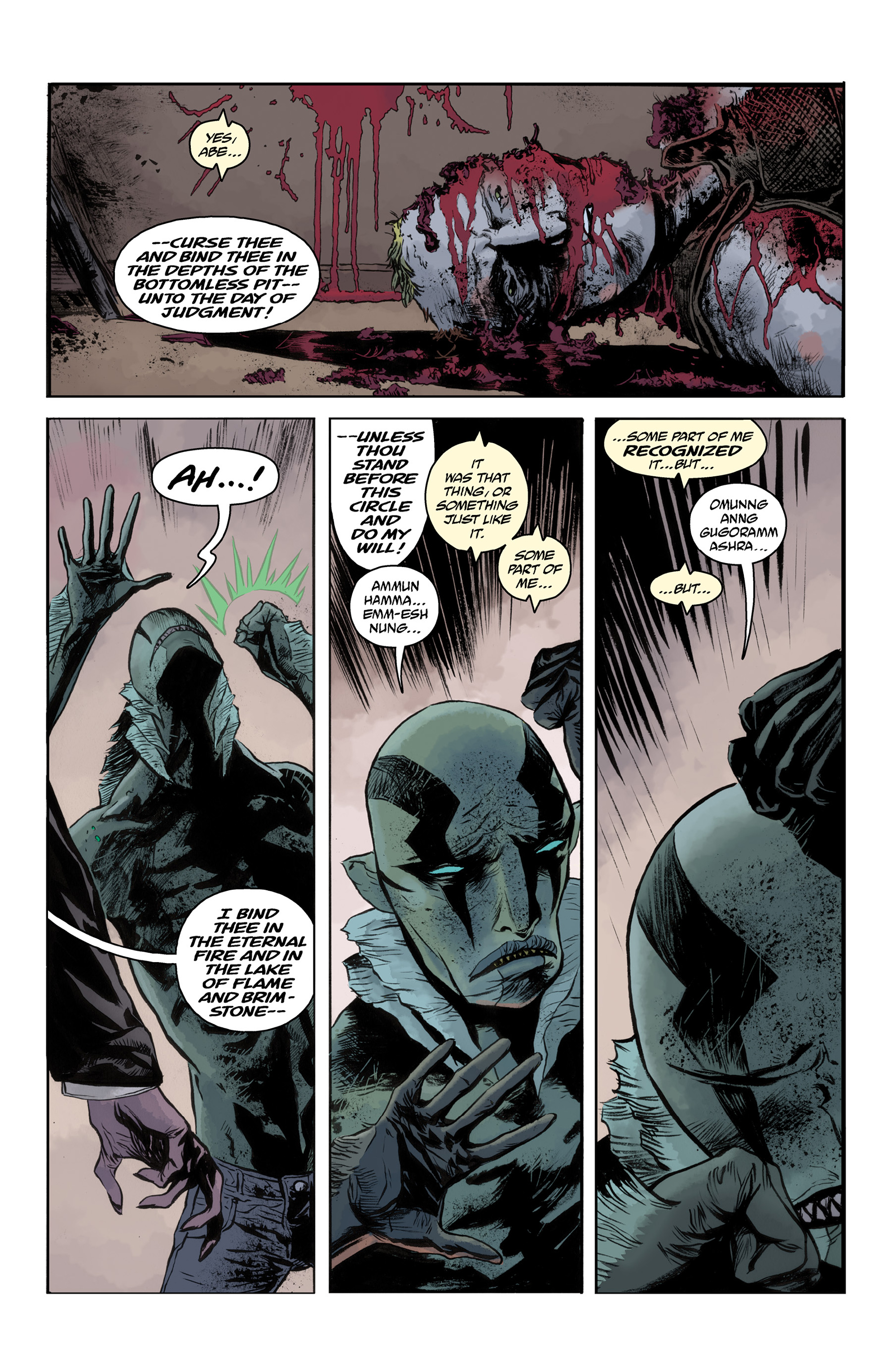 Read online Abe Sapien comic -  Issue #33 - 21