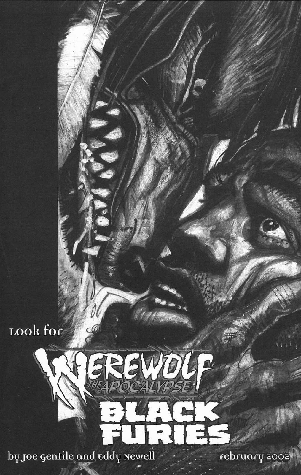 Read online Werewolf the Apocalypse comic -  Issue # Bone Gnawers - 51