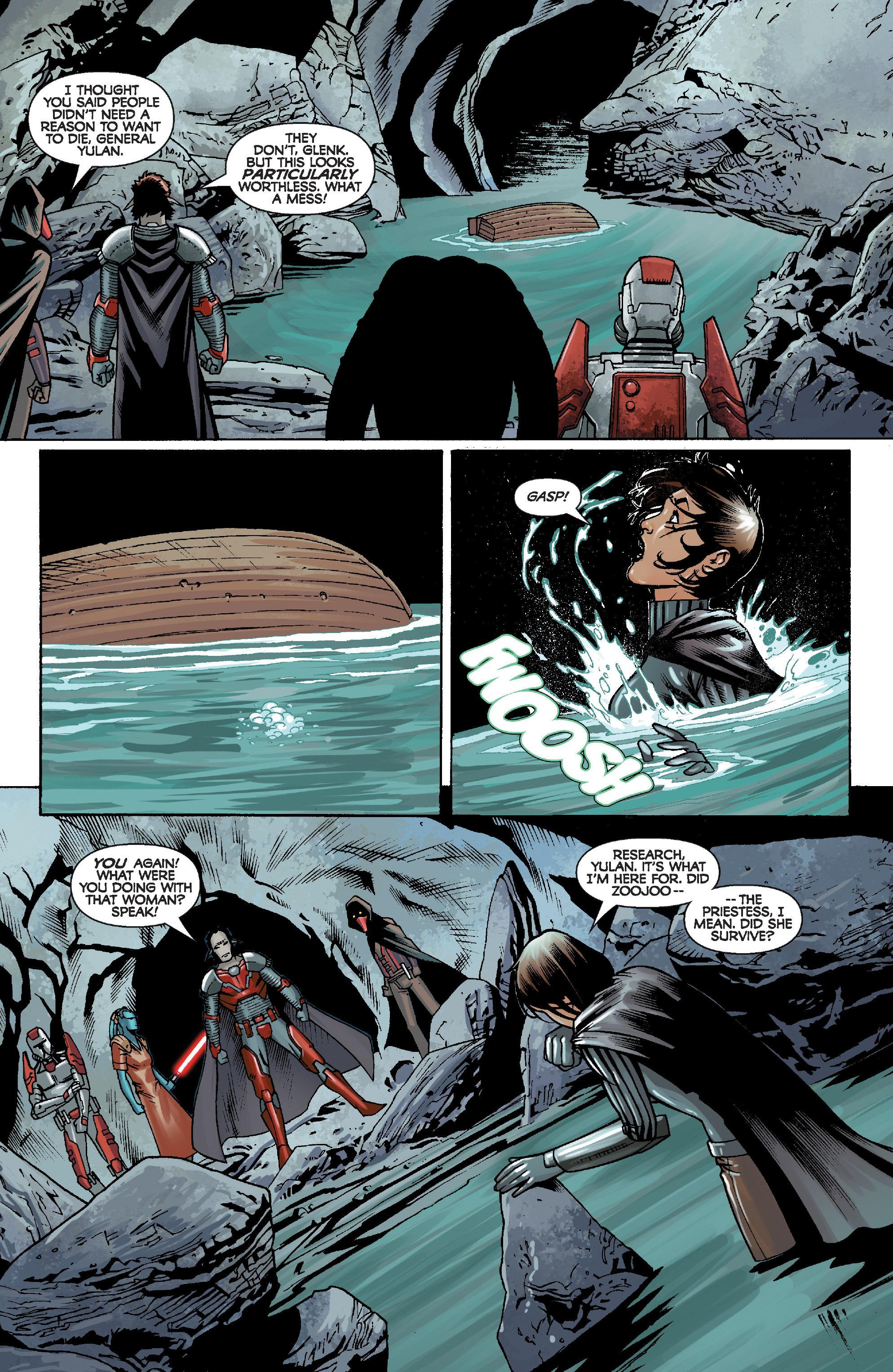 Read online Star Wars: Knight Errant - Escape comic -  Issue #2 - 23