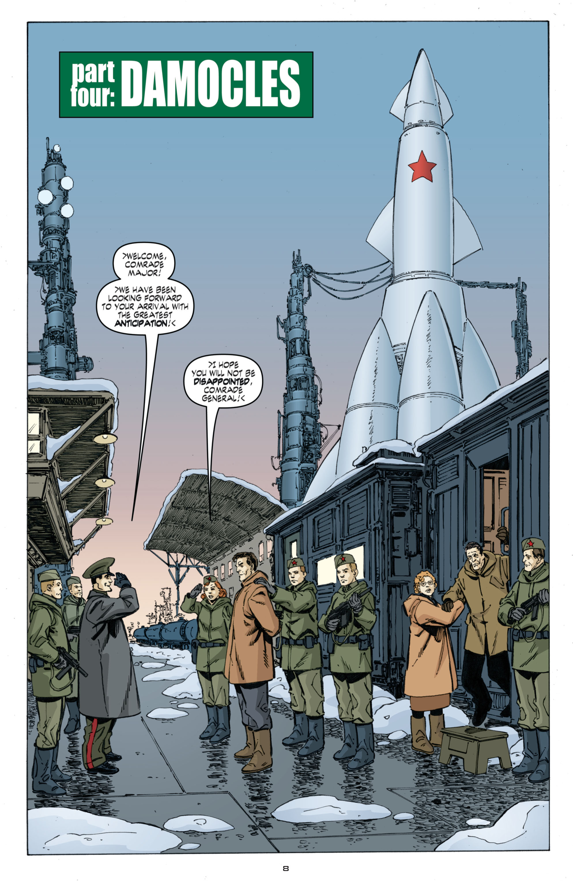 Read online Cold War comic -  Issue # TPB - 92
