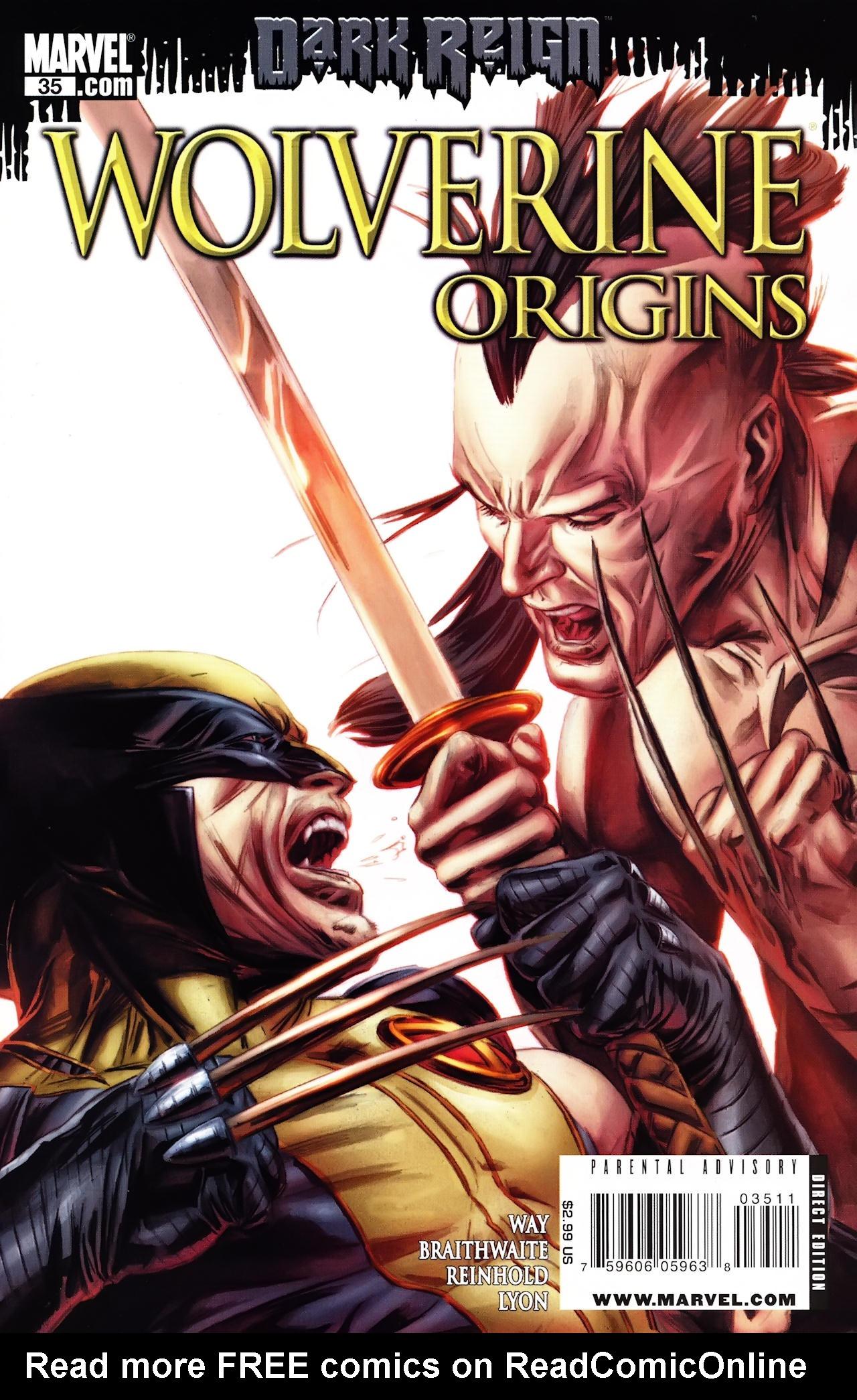 Read online Wolverine: Origins comic -  Issue #35 - 1
