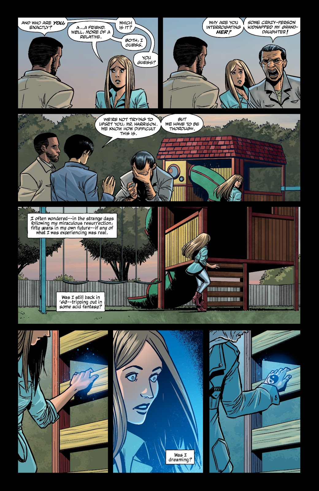 Read online The Girl In The Bay comic -  Issue #4 - 4