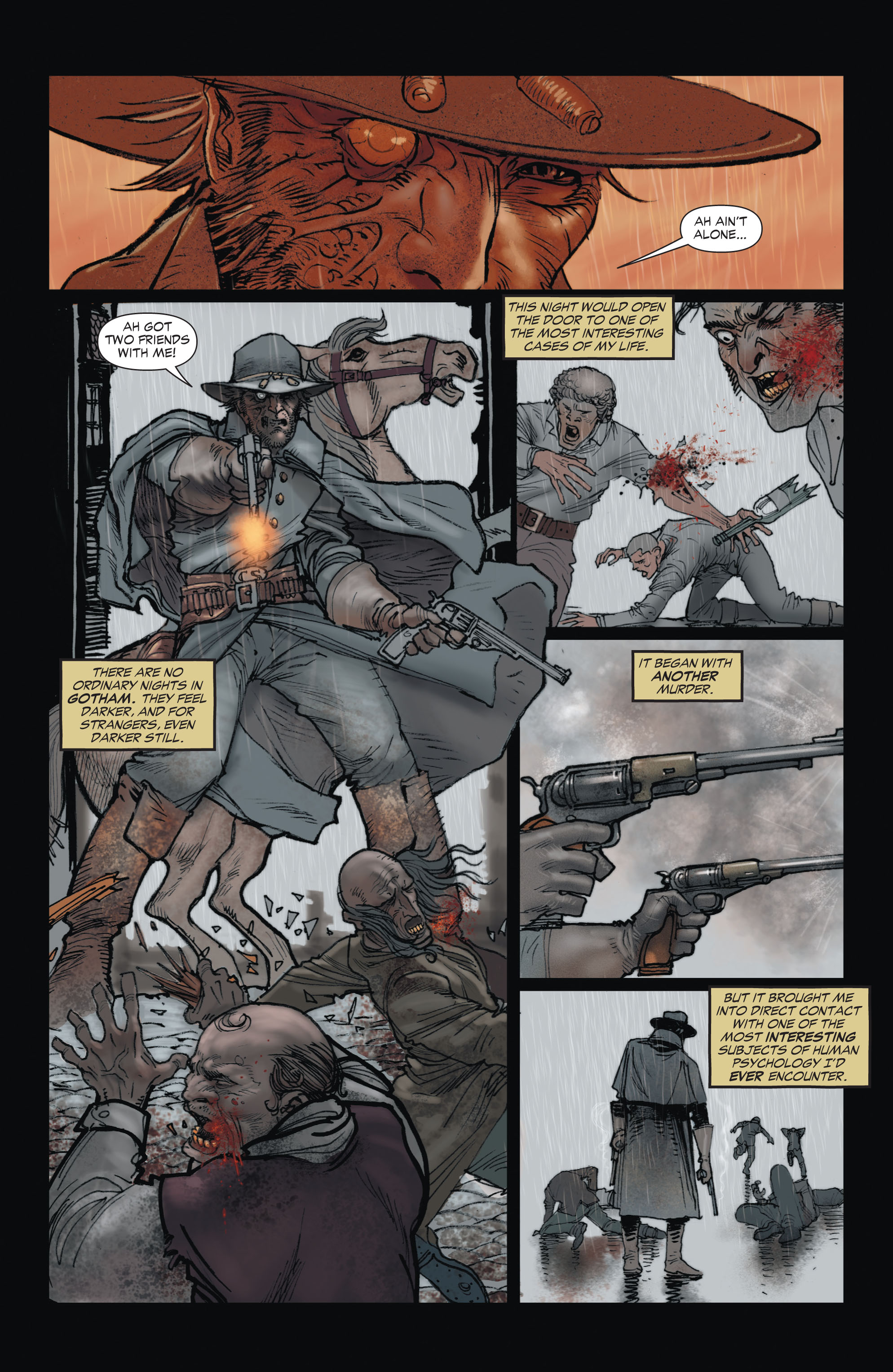 Read online All-Star Western (2011) comic -  Issue #1 - 5