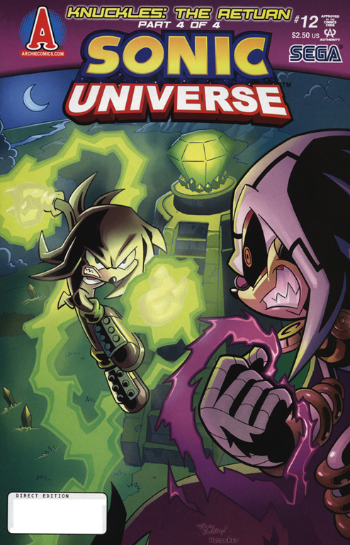 Read online Sonic Universe comic -  Issue #12 - 1