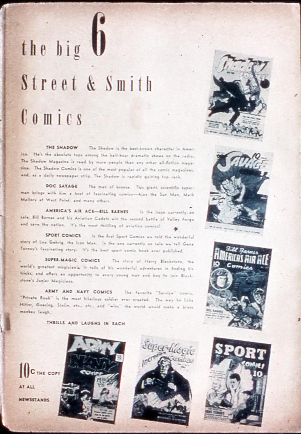Read online Shadow Comics comic -  Issue #11 - 67