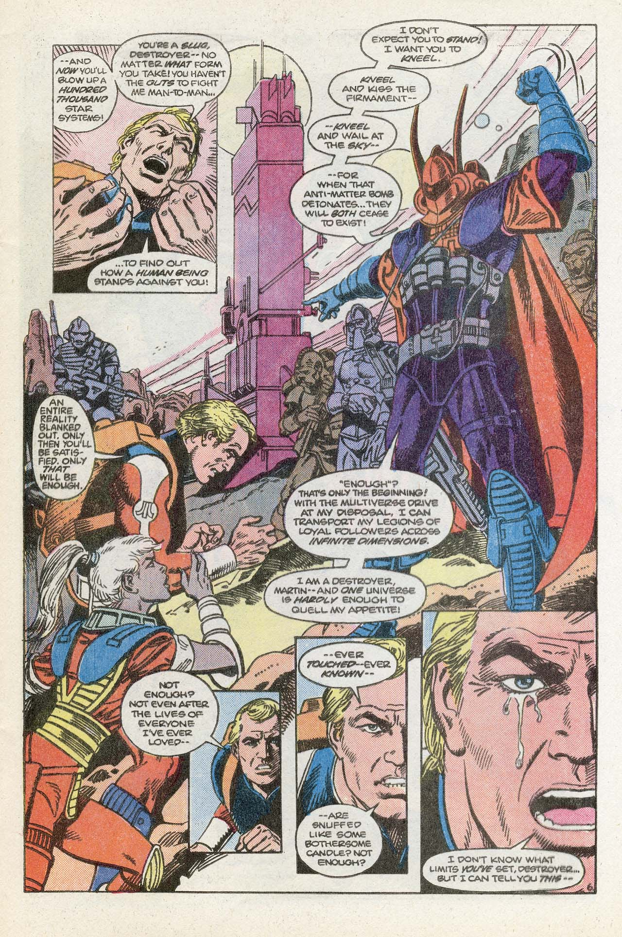 Read online Atari Force (1984) comic -  Issue #13 - 9