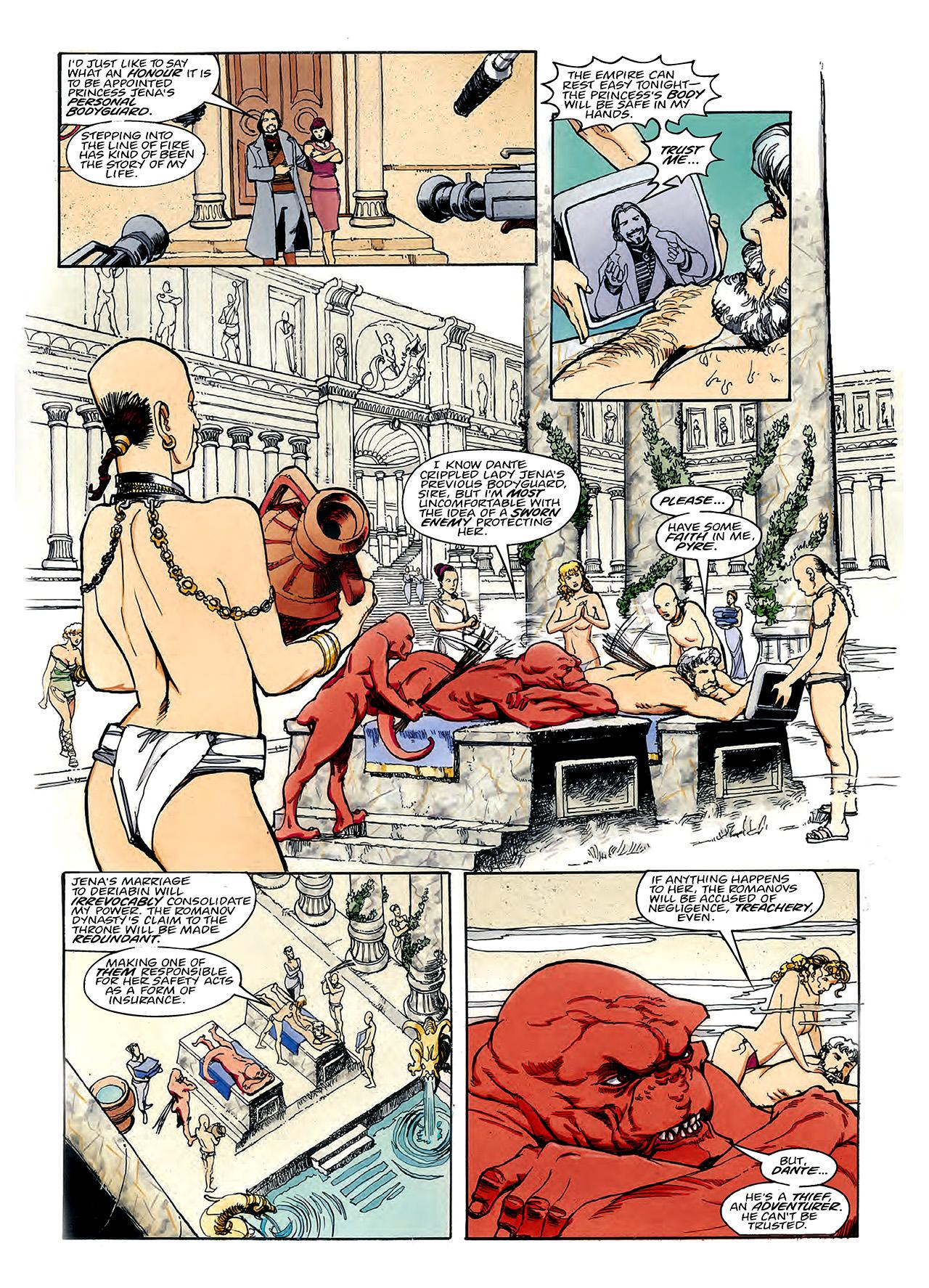 Read online Nikolai Dante comic -  Issue # TPB 3 - 65