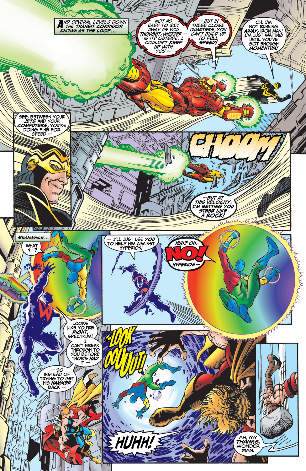 Read online Avengers (1998) comic -  Issue #6 - 18
