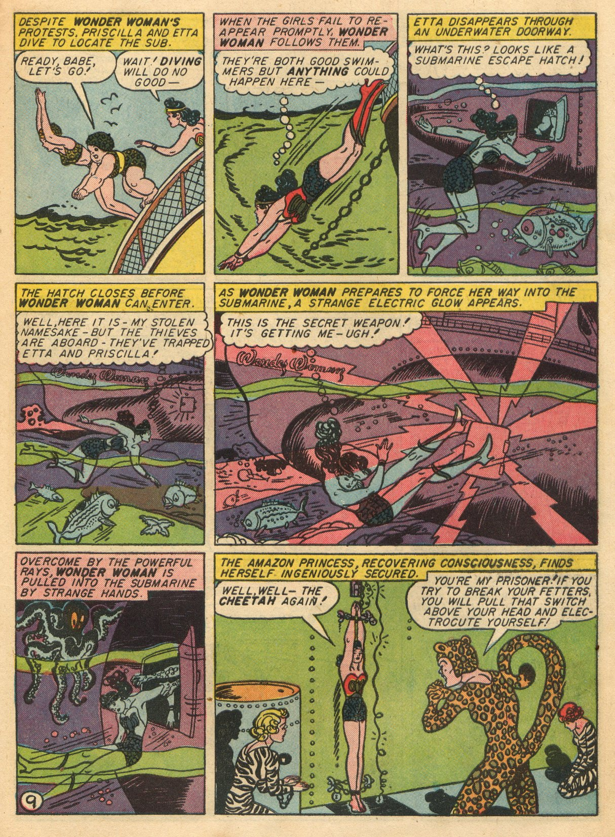 Read online Sensation (Mystery) Comics comic -  Issue #22 - 11