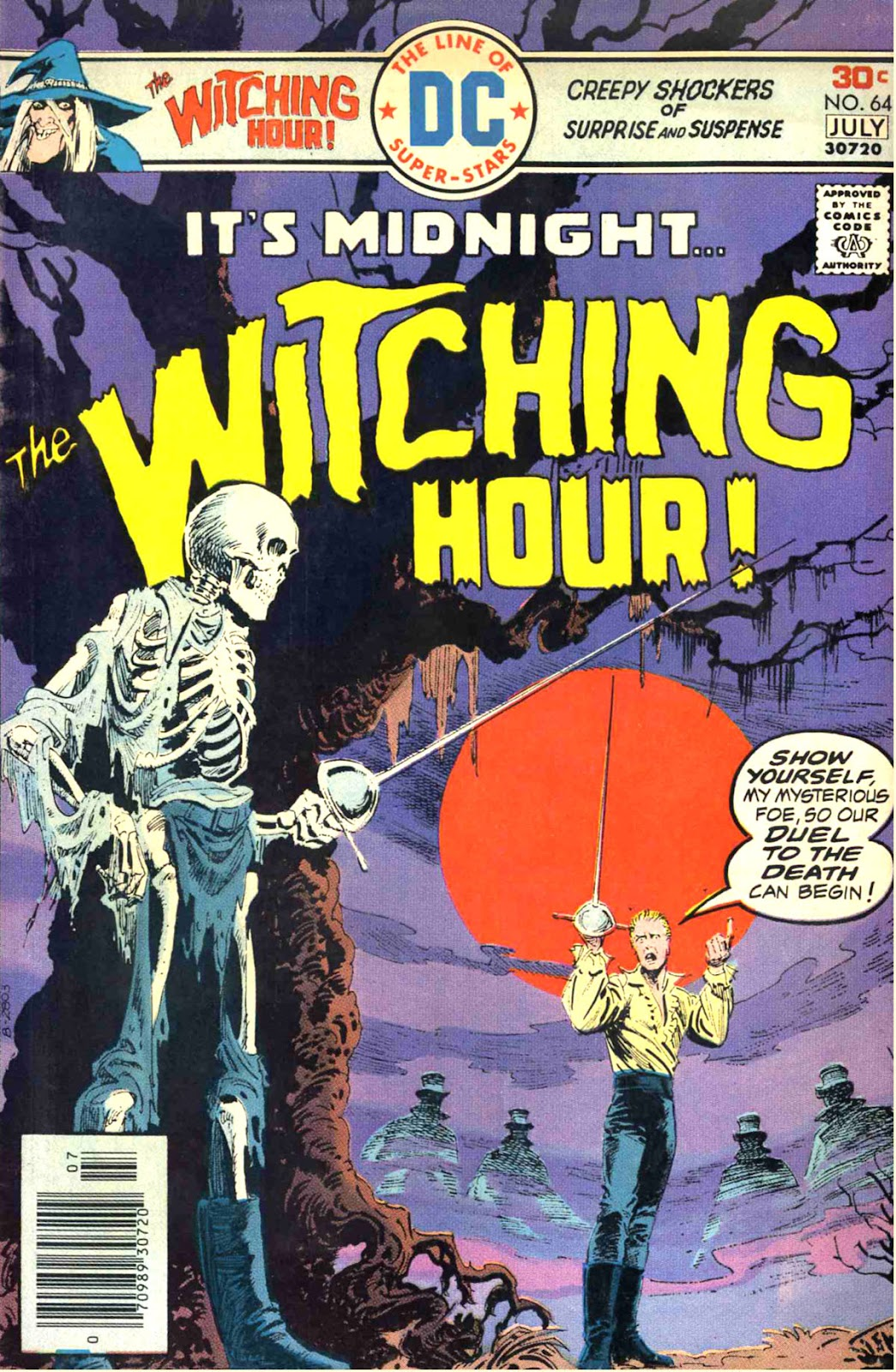 The Witching Hour (1969) issue 64 - Page 1