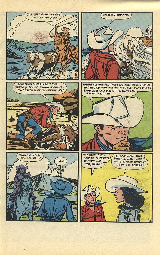 Read online Roy Rogers comic -  Issue #3 - 23