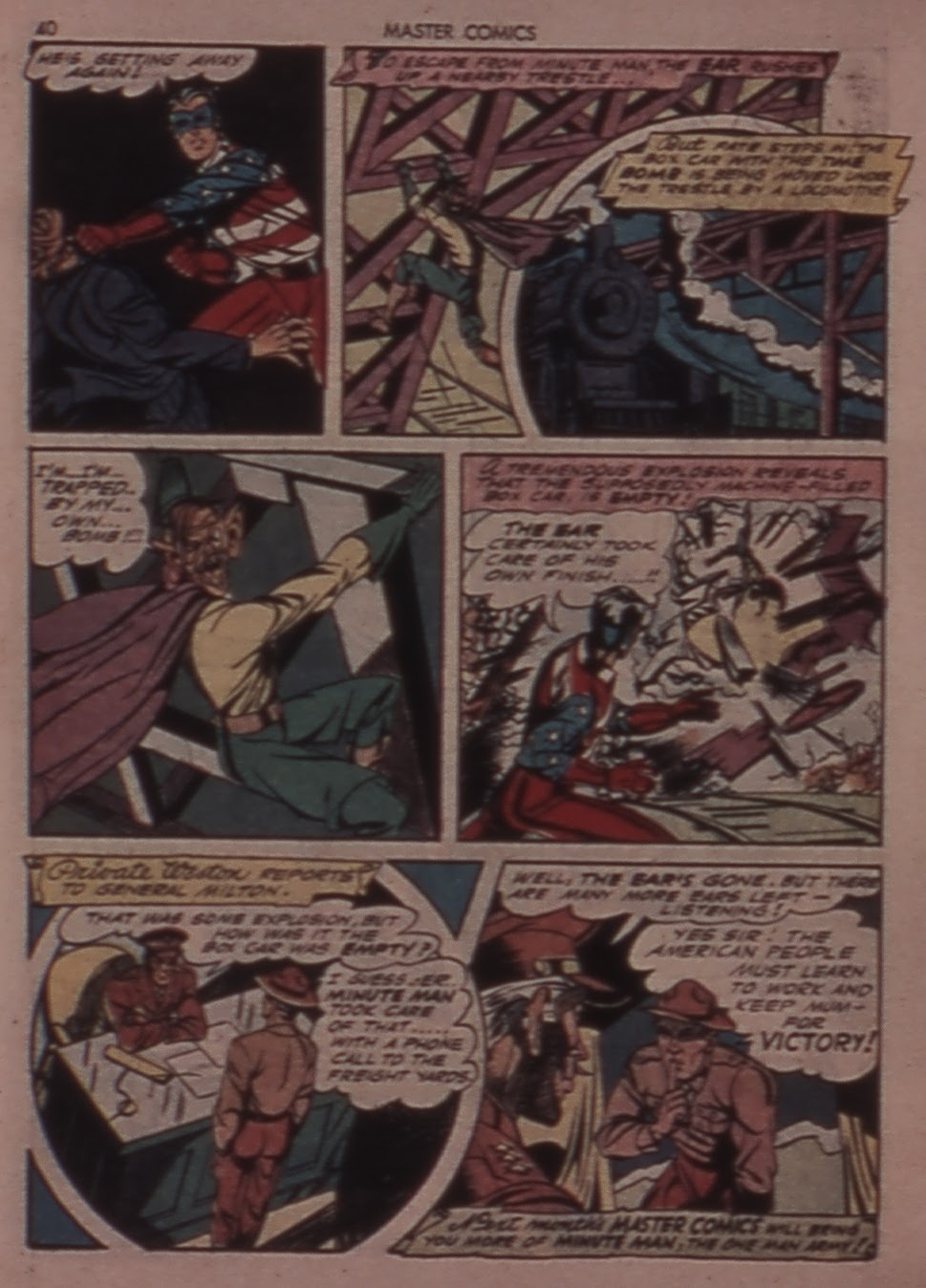 Master Comics issue 30 - Page 40