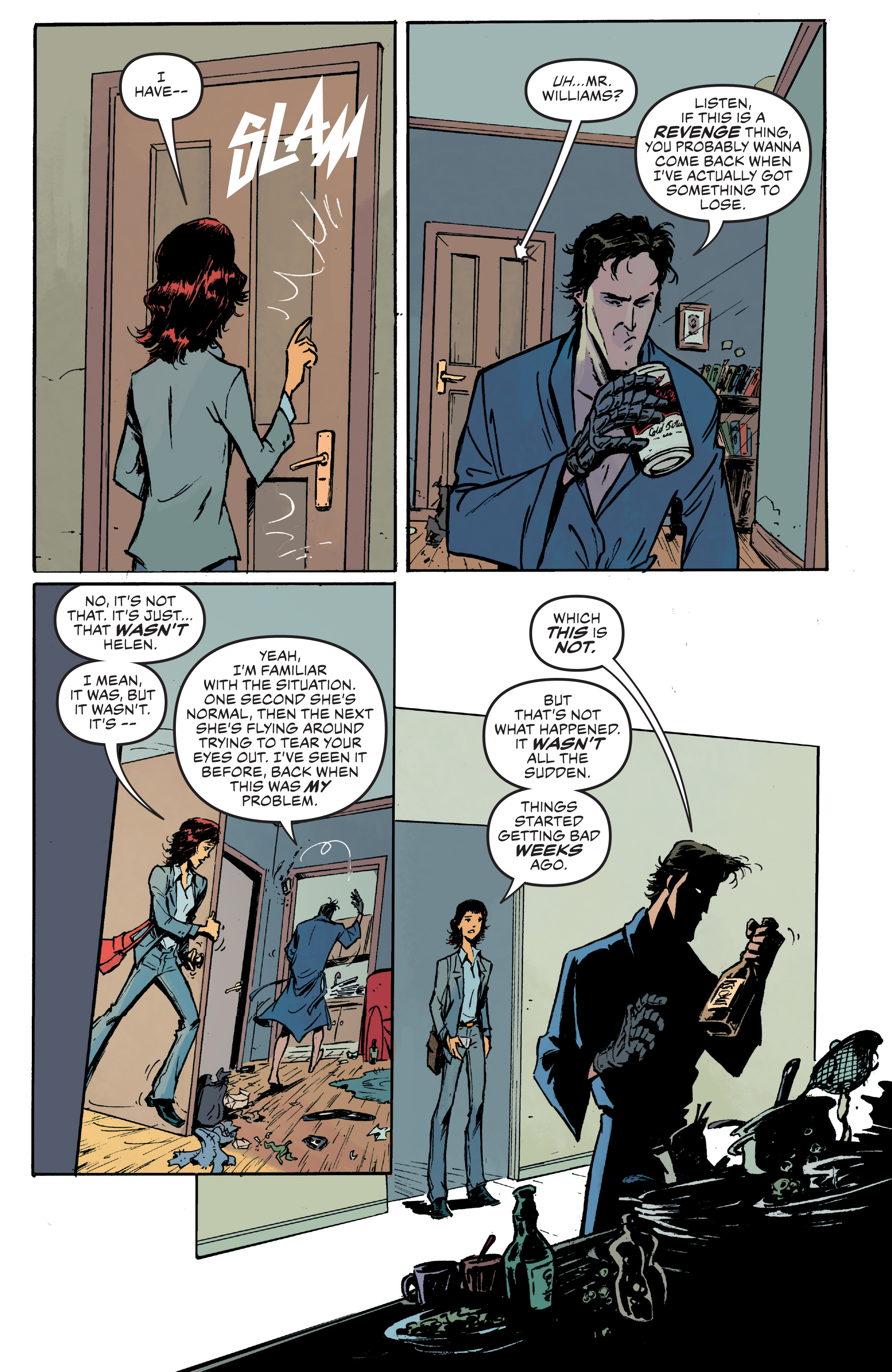 Read online Ash Vs. The Army of Darkness comic -  Issue #0 - 14