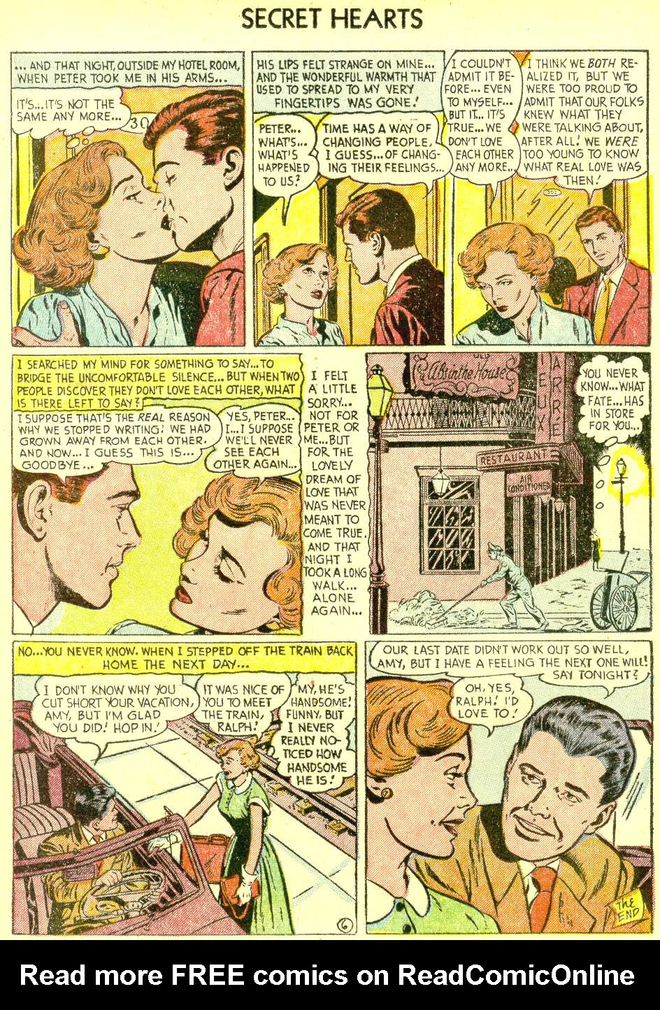 Read online Secret Hearts comic -  Issue #21 - 16